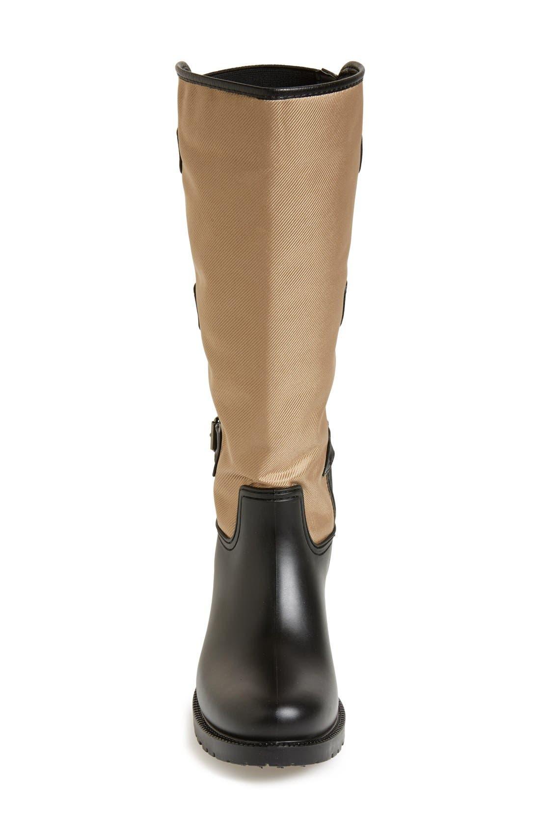 Alternate Image 3  - däv Tall Buckle Rain Boot (Women)