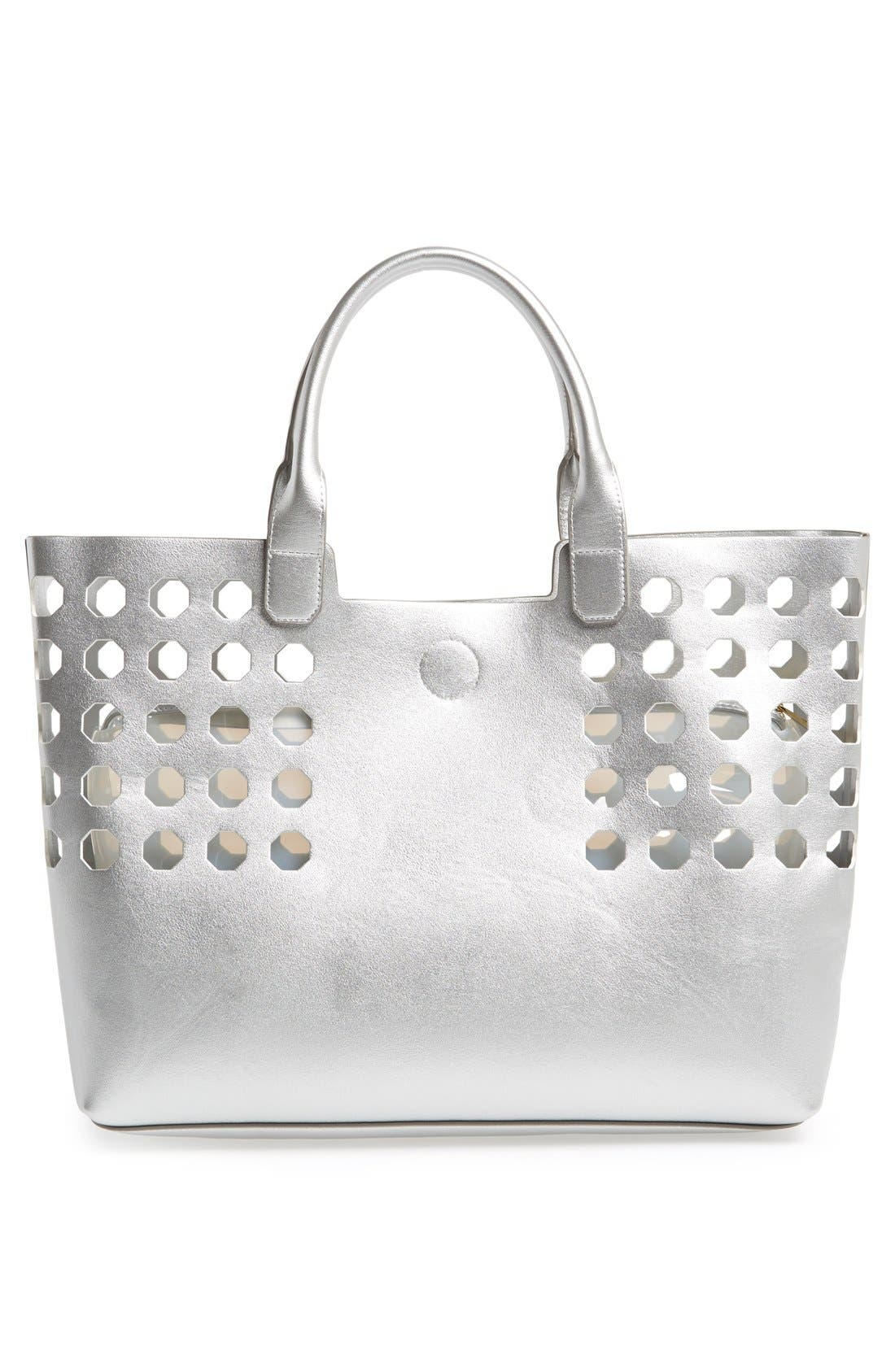 Alternate Image 2  - POVERTY FLATS by rian Perforated Tote
