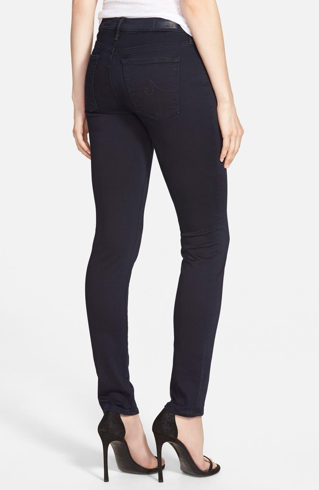 Alternate Image 2  - AG 'Prima' Mid Rise Cigarette Jeans (Endless)