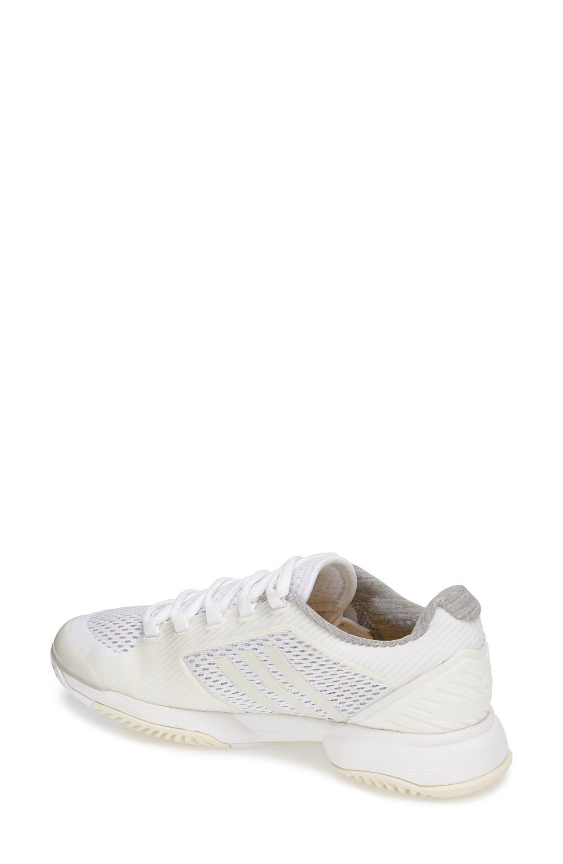 Alternate Image 2  - adidas 'Stella McCartney - Barricade 2015' Tennis Shoe (Women)