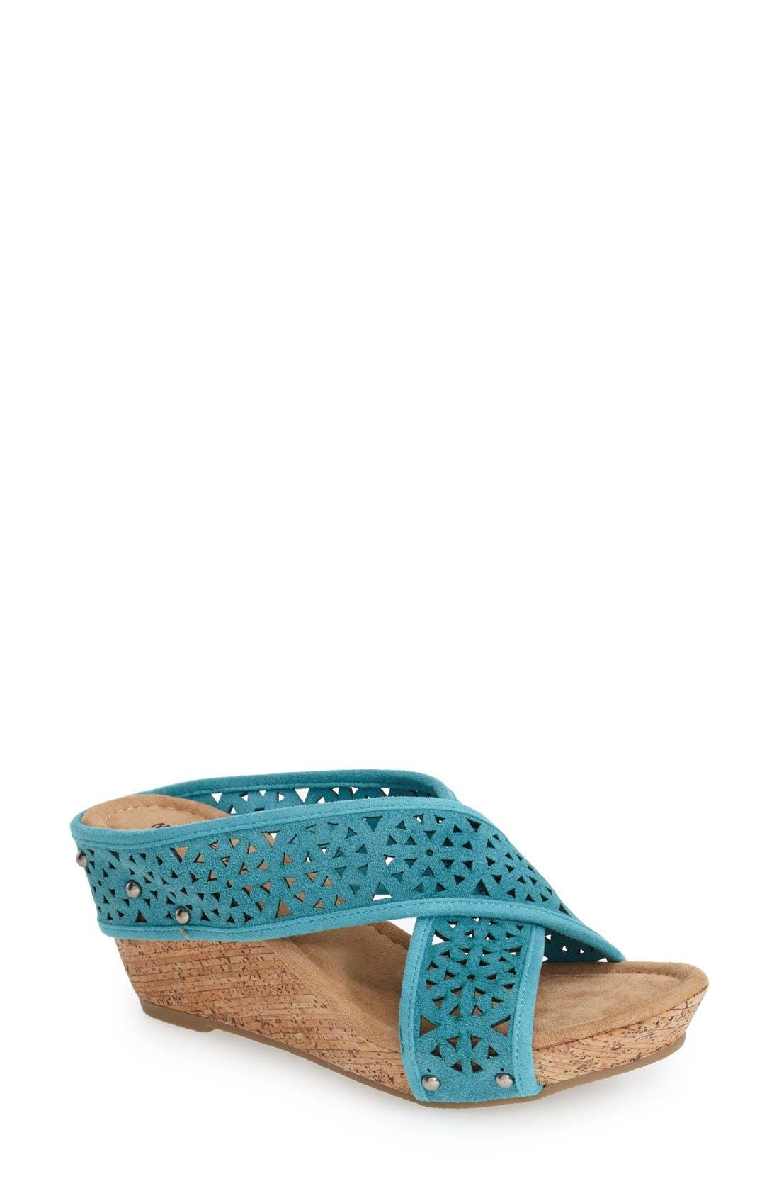 Alternate Image 1 Selected - Minnetonka 'Lainey' Sandal (Women)