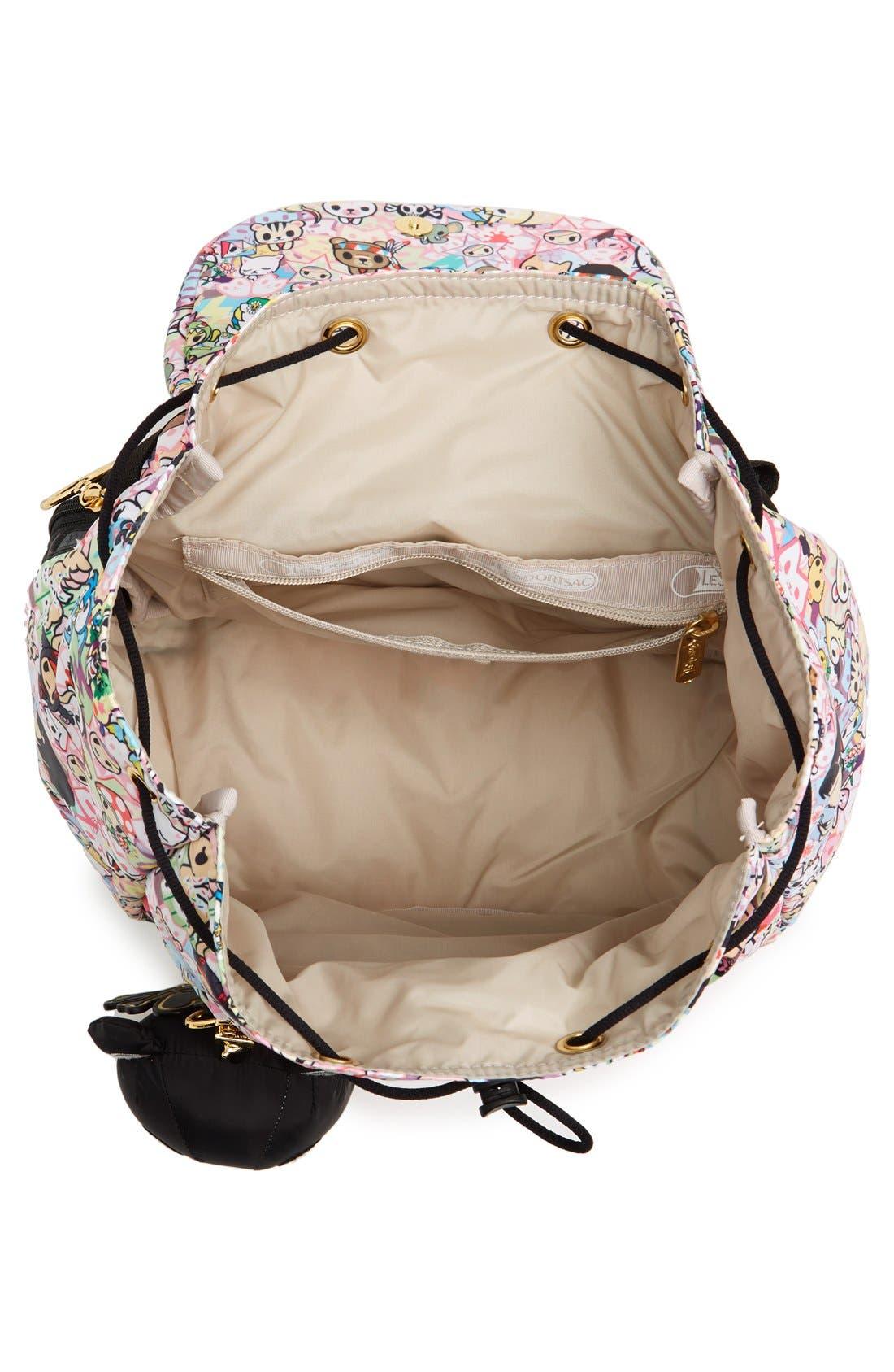 Alternate Image 6  - tokidoki x LeSportsac 'Piccolina' Nylon Backpack