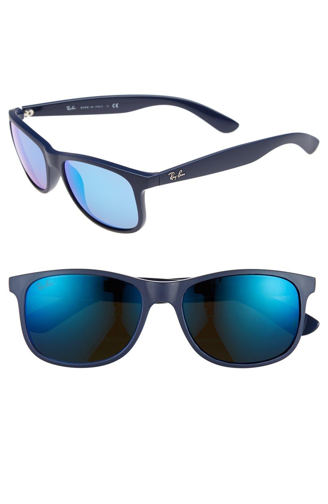 Main Image - Ray-Ban 'TECH Carbon Fiber' 58mm Aviator Sunglasses