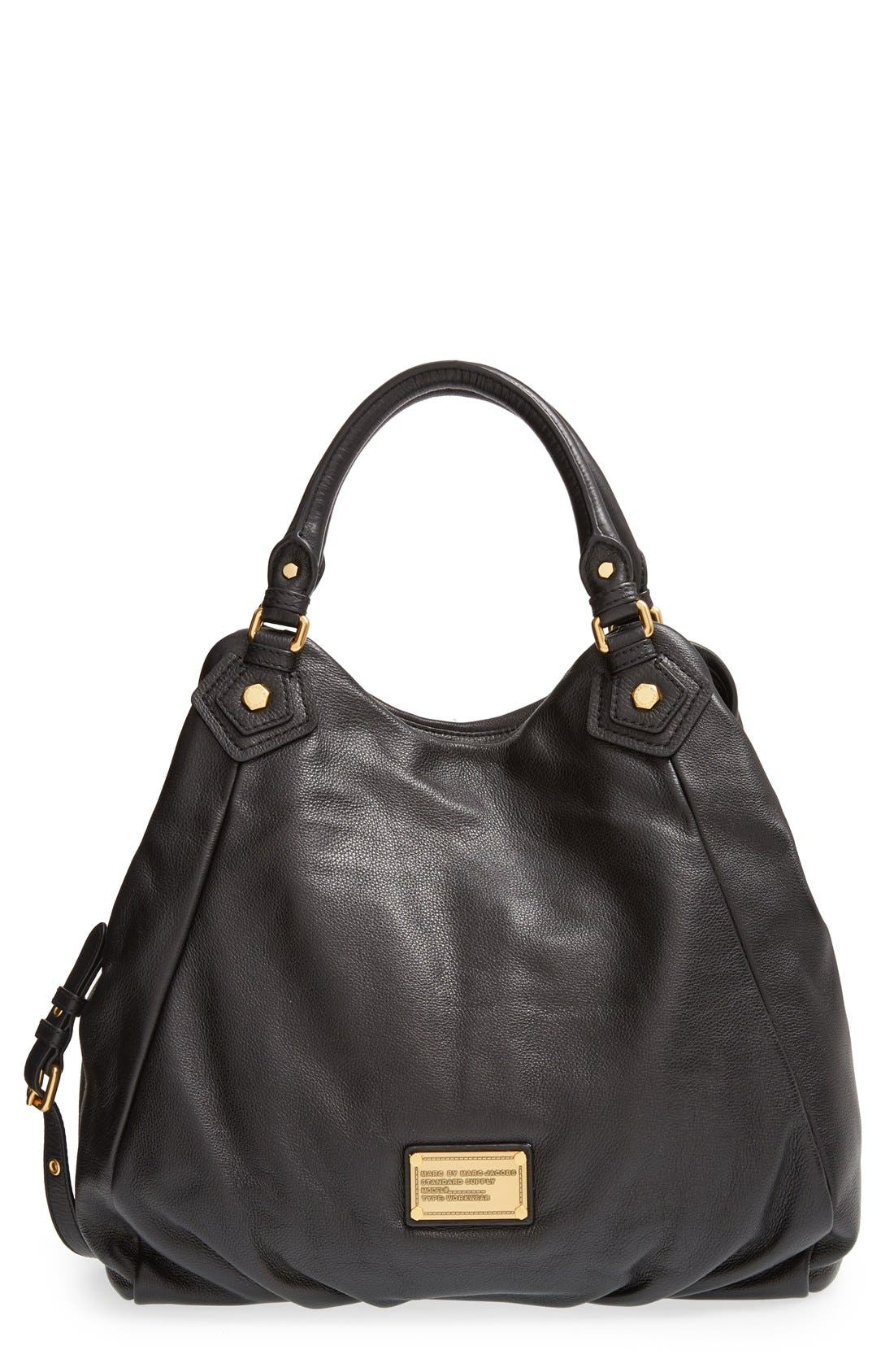 Alternate Image 1 Selected - MARC BY MARC JACOBS 'Classic Q - Francesca' Leather Shopper