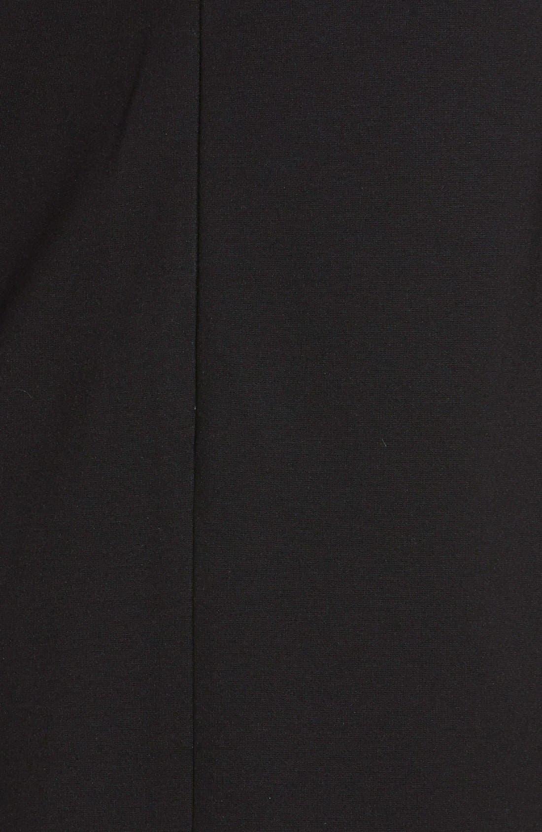 Alternate Image 3  - Cynthia Steffe Collared Ponte Knit Shift Dress