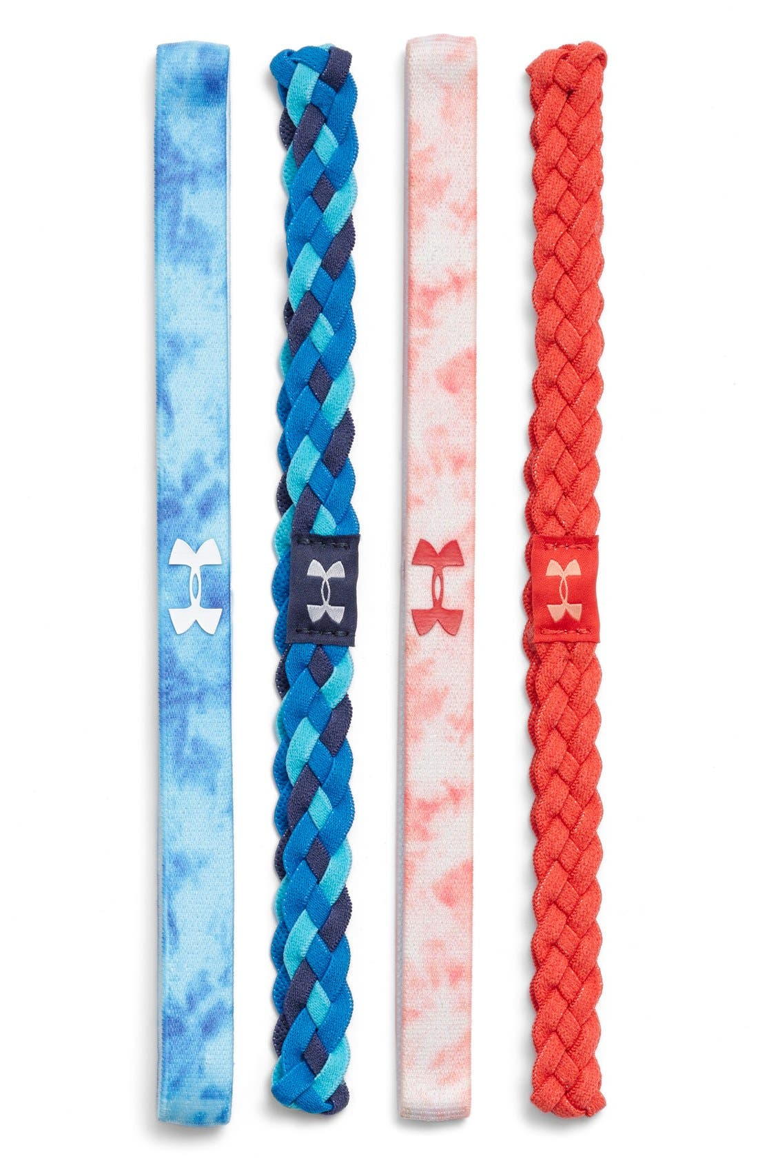 Alternate Image 1 Selected - Under Armour Headbands (4-Pack)