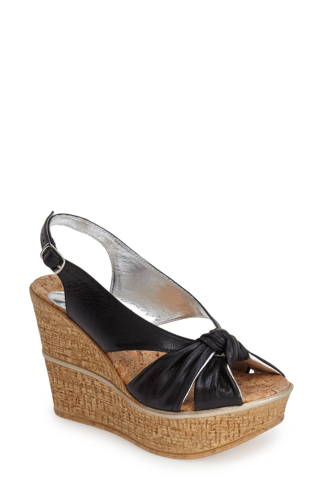 LOVE AND LIBERTY 'Audra' Slingback Wedge