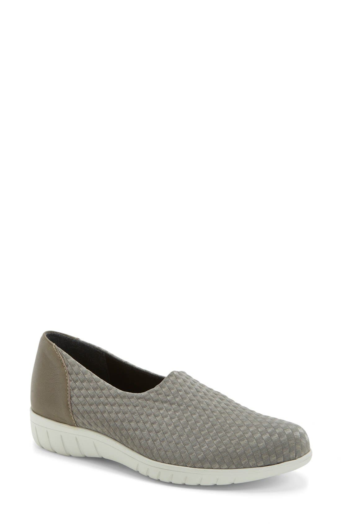 Munro 'Cruise' Woven Slip-On Sneaker (Women)