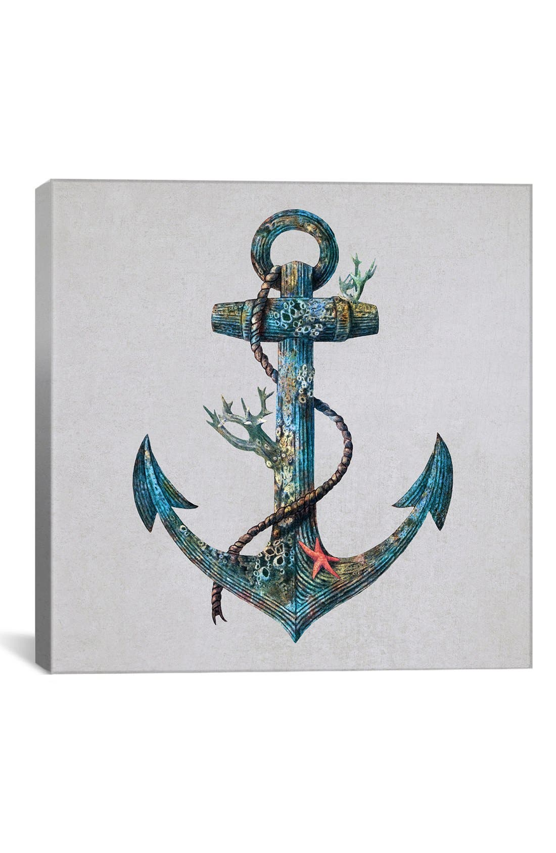 Main Image - iCanvas 'Lost at Sea - Terry Fan' Giclée Print Canvas Art