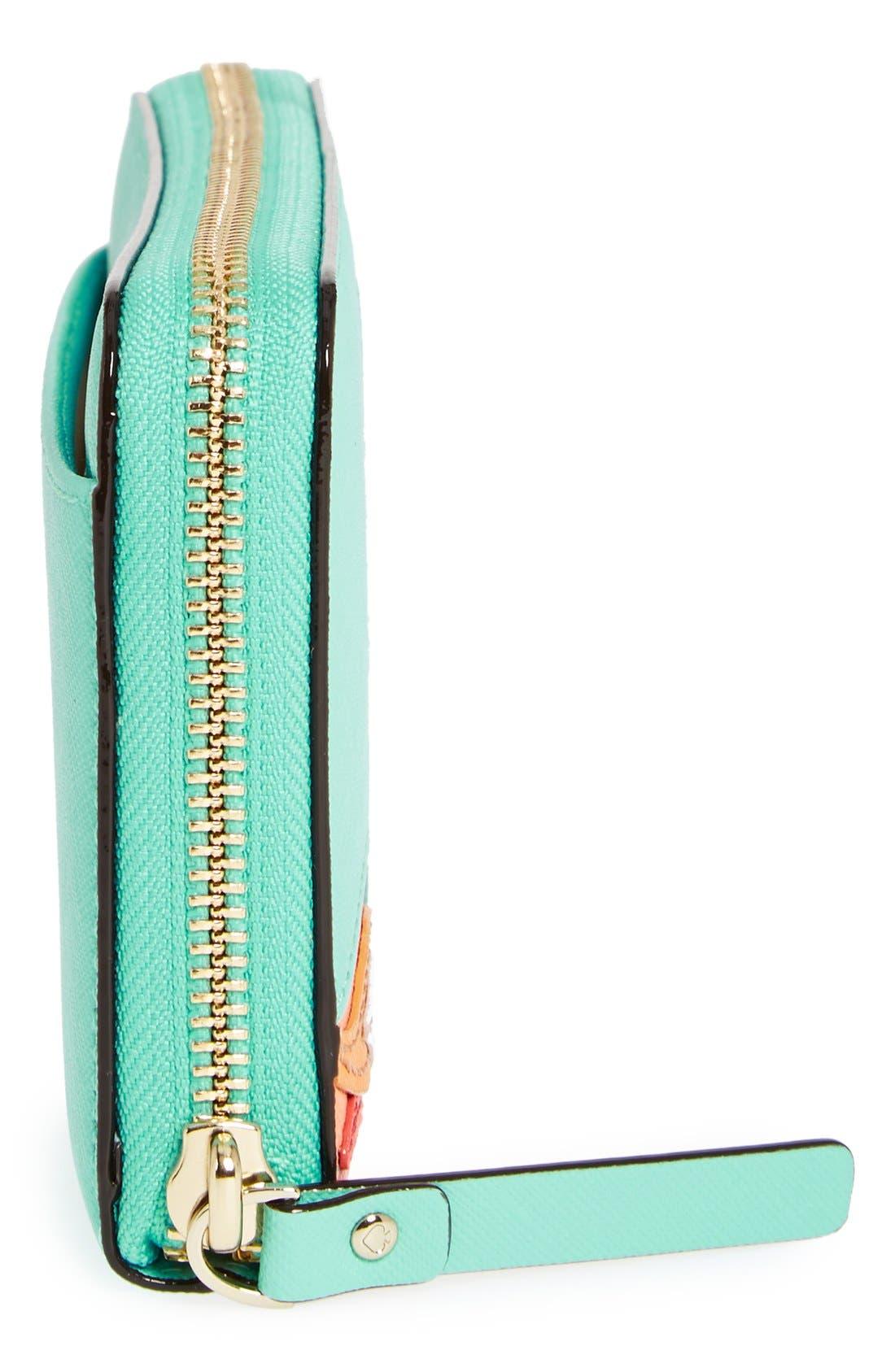 Alternate Image 5  - kate spade new york 'strut your stuff - lacey' zip around wallet