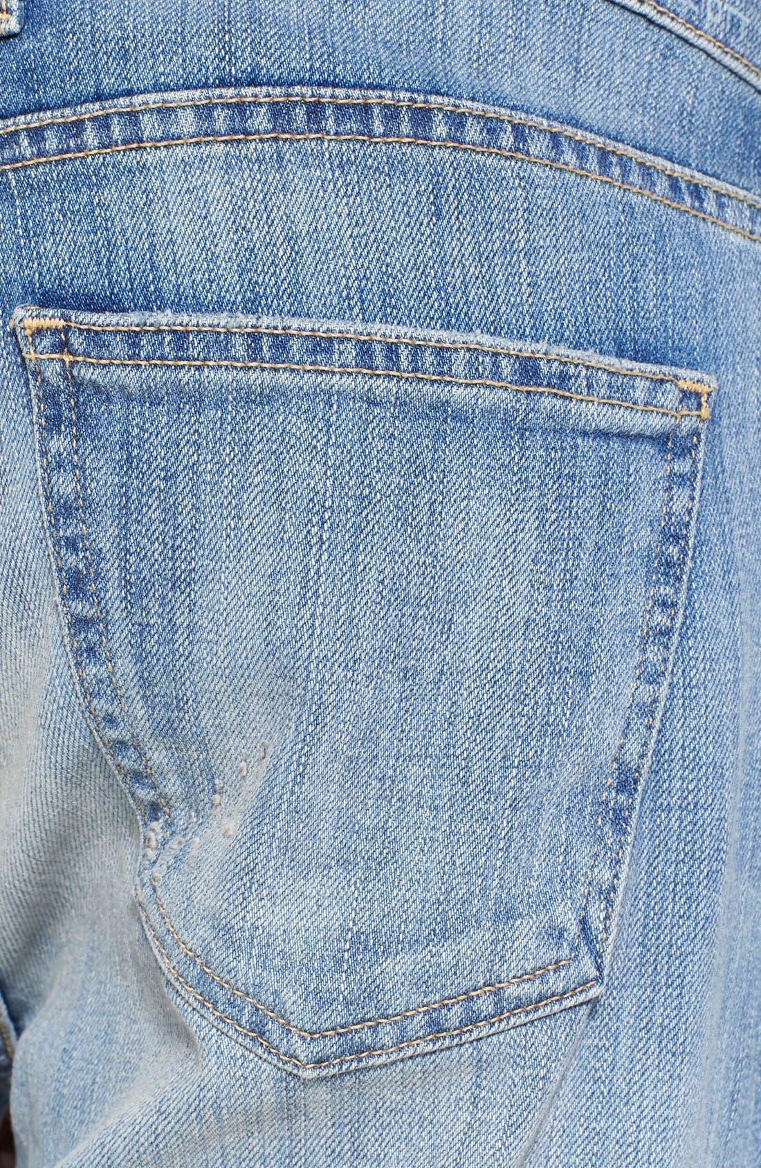 Alternate Image 3  - Current/Elliott 'The Fling' Boyfriend Jeans (Super Love Destroy)