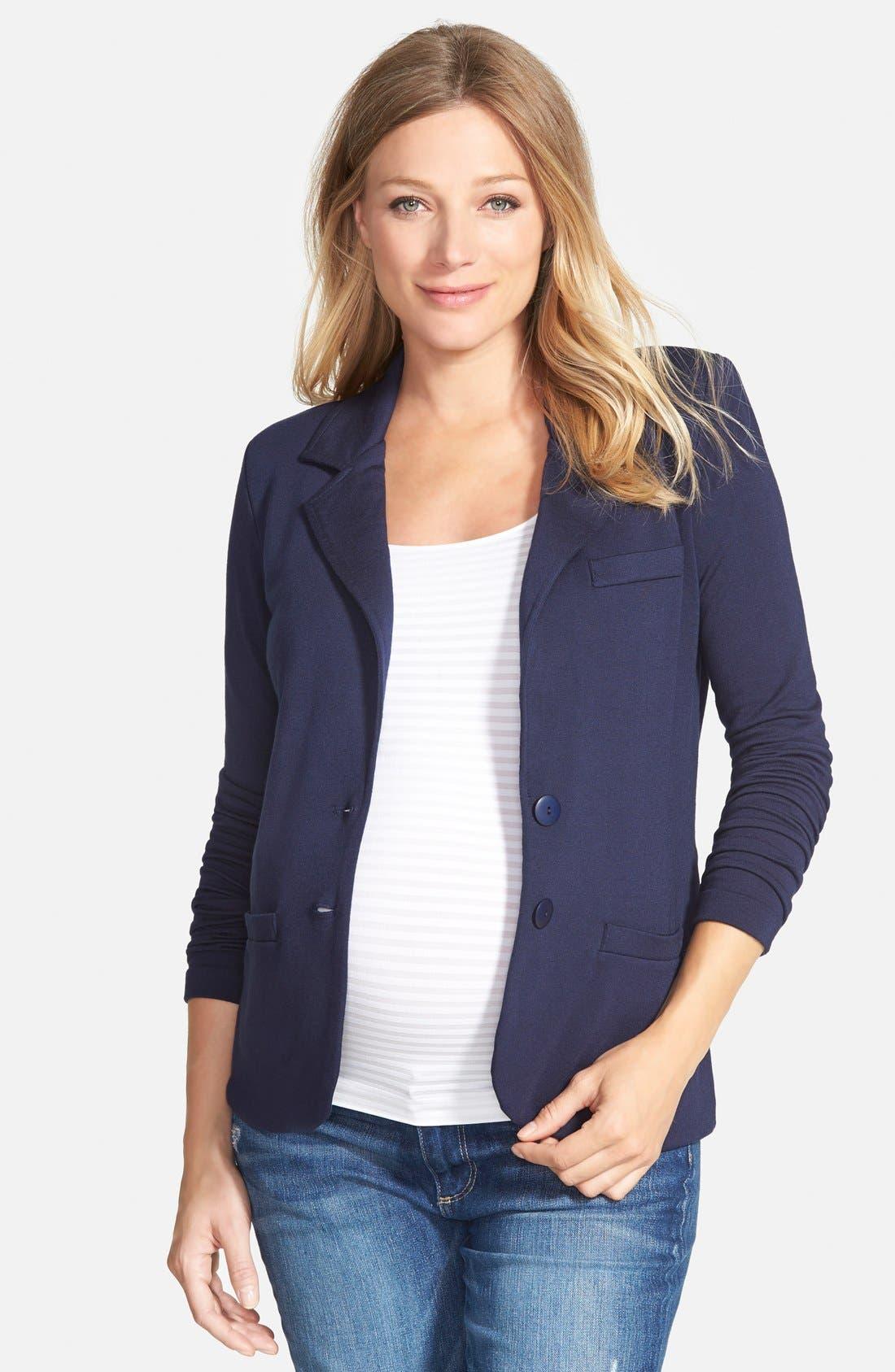 Alternate Image 1 Selected - Tart Maternity 'Essential' Maternity Blazer