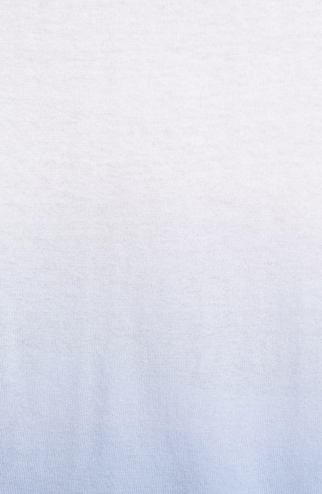 Alternate Image 3  - Nordstrom Collection 'Lula' Dip Dye Cotton Blend Sweater