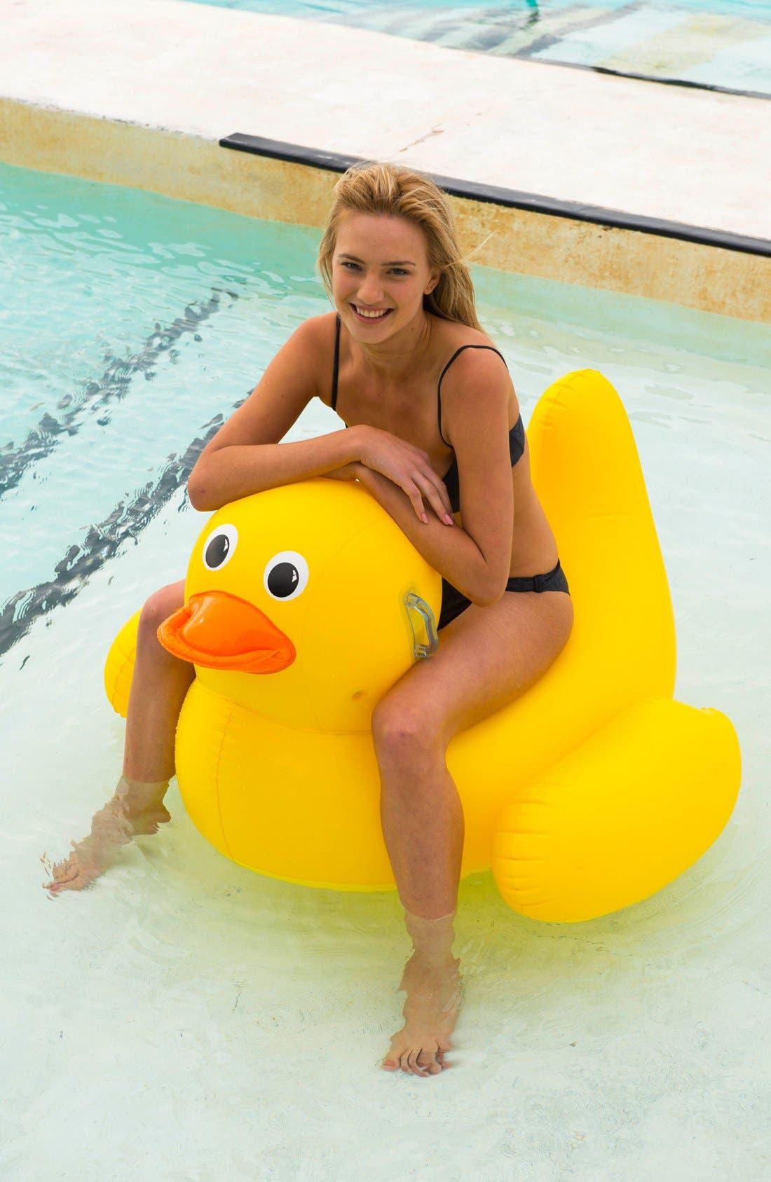 Alternate Image 2  - Sunnylife 'Really Big' Inflatable Duck Pool Floatie