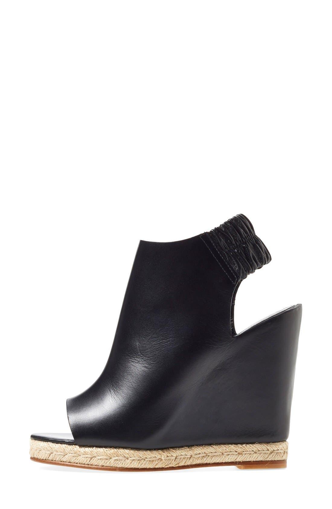Alternate Image 4  - Balenciaga Espadrille Wedge Sandal (Women)