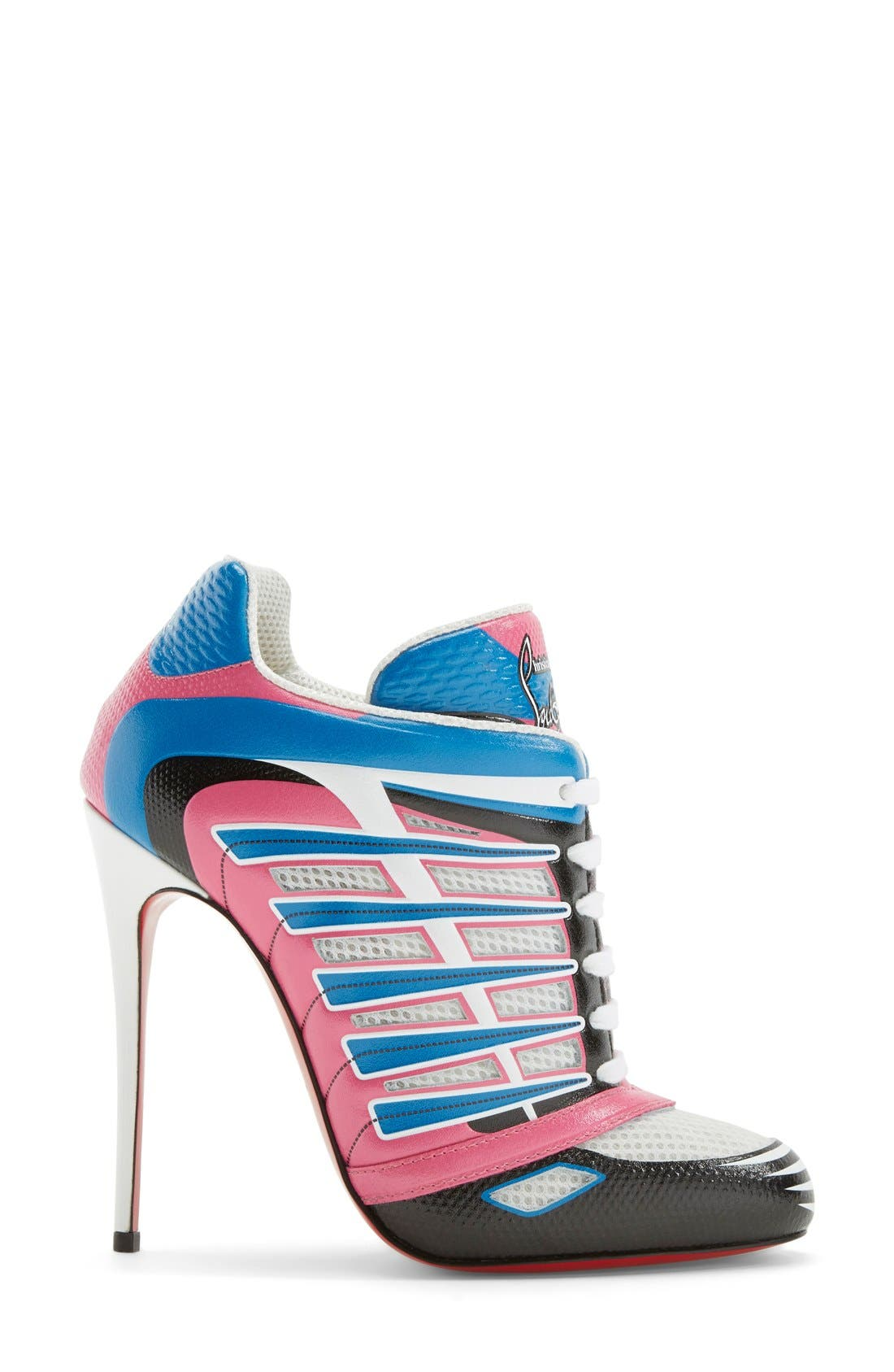 Alternate Image 4  - Christian Louboutin 'Boltina' Lace-Up Bootie