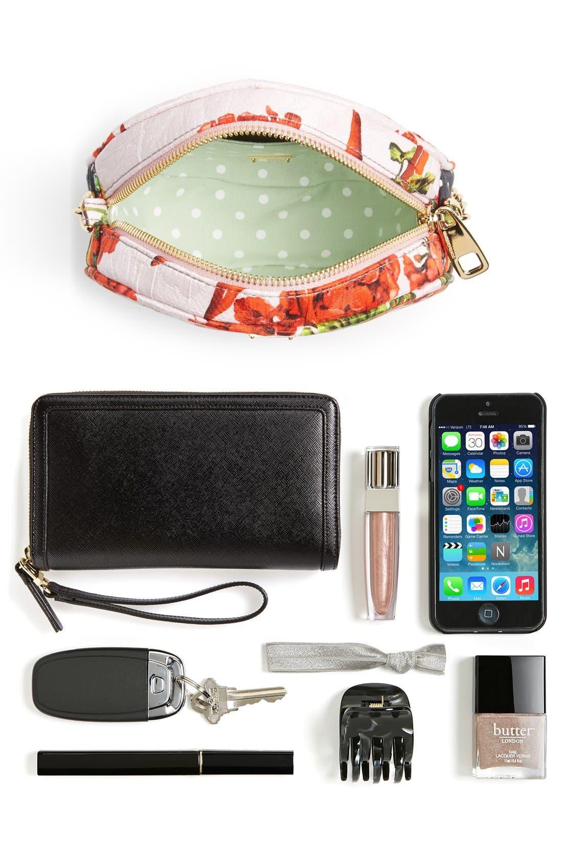 Alternate Image 5  - Dolce&Gabbana 'Miss Glam' Floral Print Crossbody Bag
