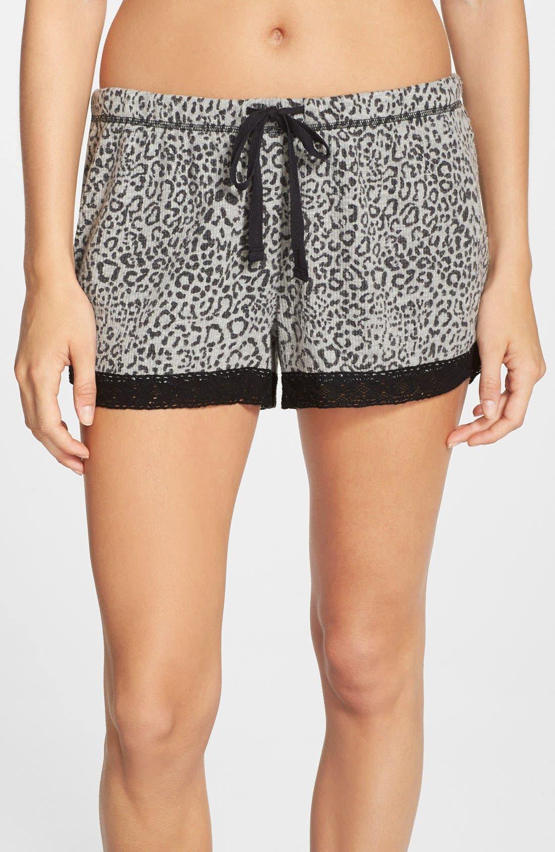 Alternate Image 1 Selected - PJ Salvage Thermal Pajama Shorts