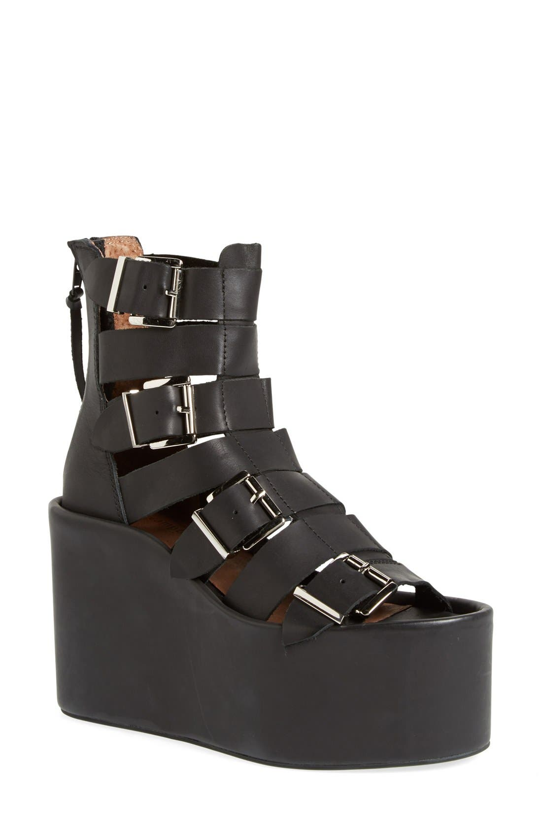 Alternate Image 1 Selected - Jeffrey Campbell 'Achilles-H' Gladiator Platform Sandal (Women)