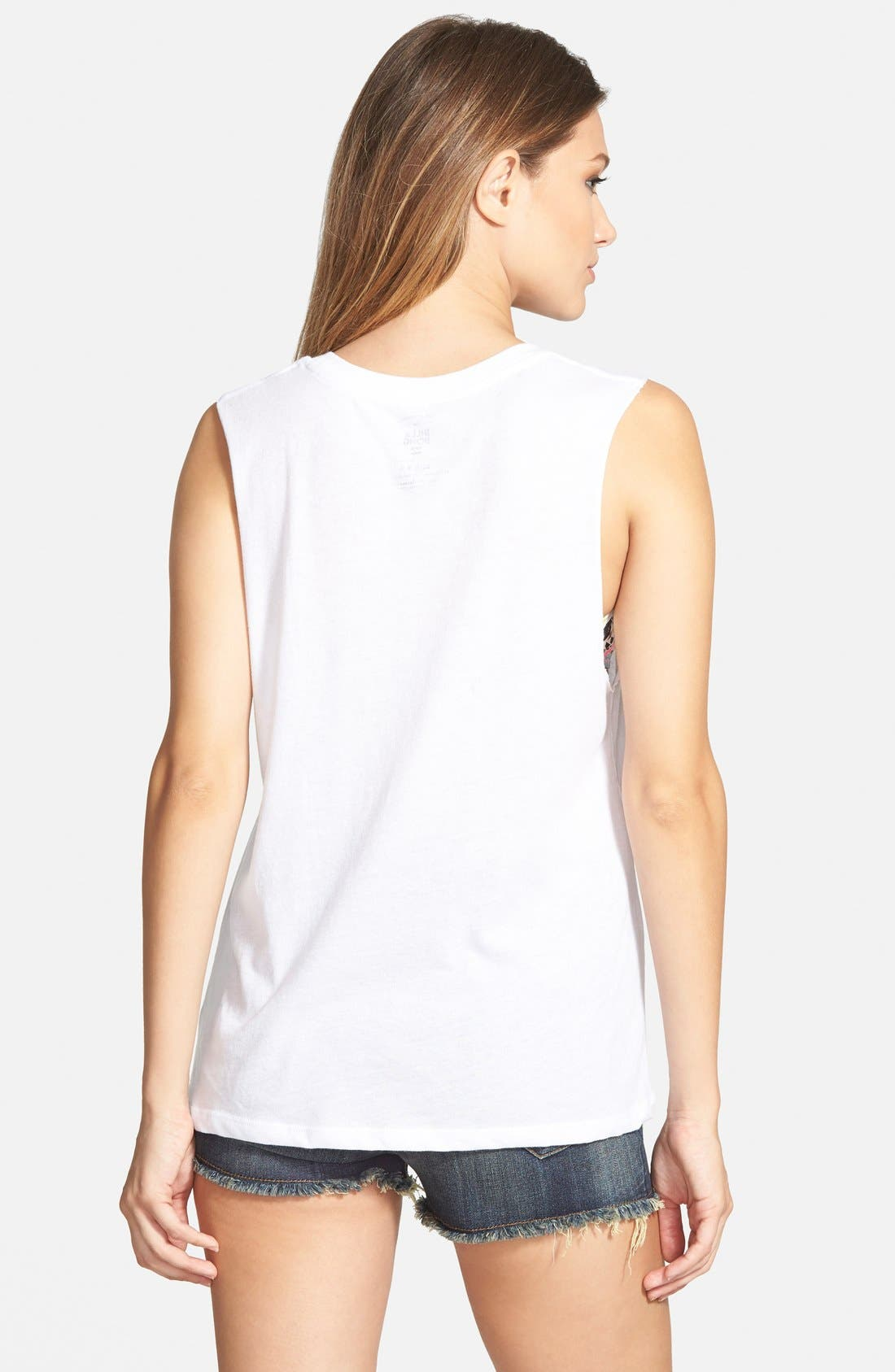 Alternate Image 2  - Billabong 'Nautical Parrots' Graphic Muscle Tee