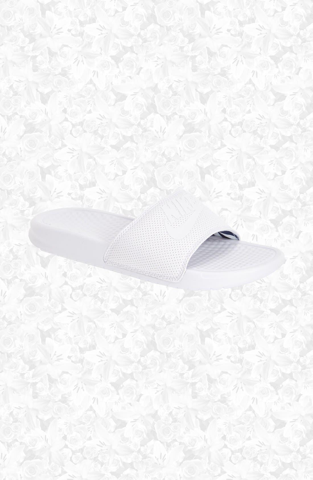 Alternate Image 6  - Nike 'Benassi - Just Do It' Slide Sandal (Women)