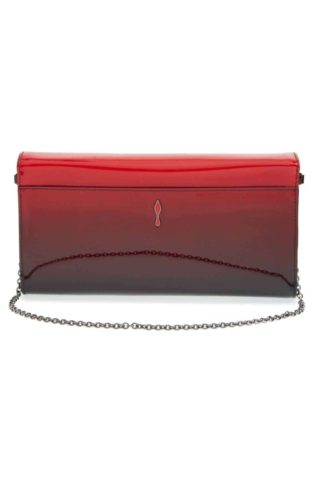 Alternate Image 3  - Christian Louboutin 'Riviera' Dégradé Patent Leather Clutch