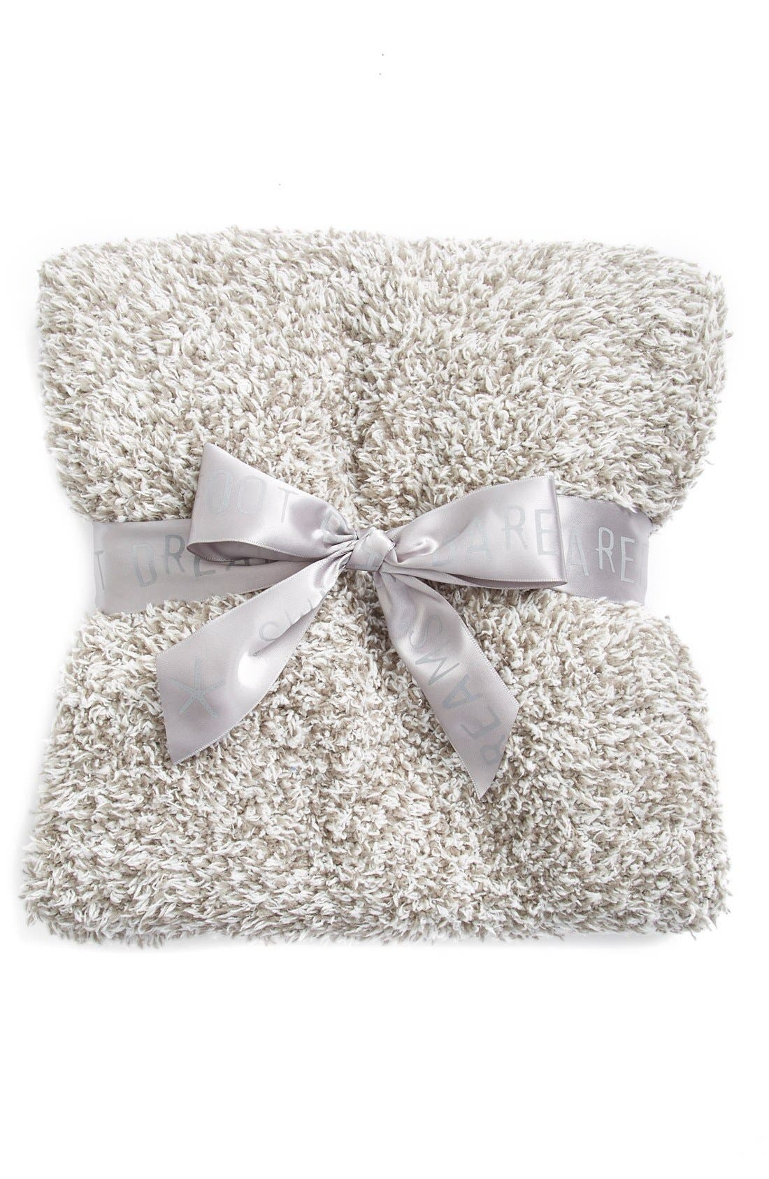 Main Image - Barefoot Dreams® CozyChic® Heathered Blanket (Baby)(Nordstrom Exclusive)