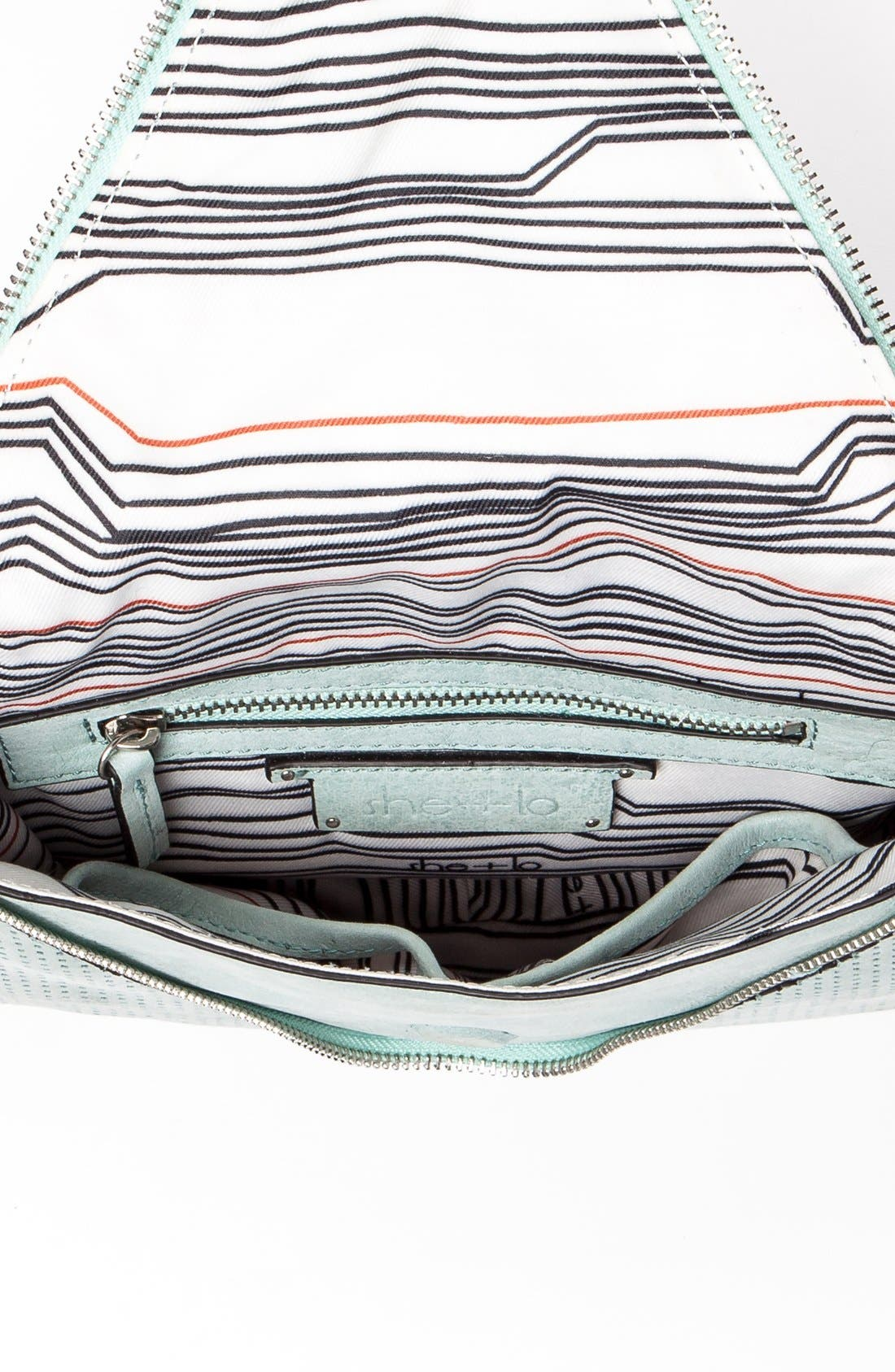 Alternate Image 4  - She + Lo 'Make Your Mark' Leather Crossbody Bag