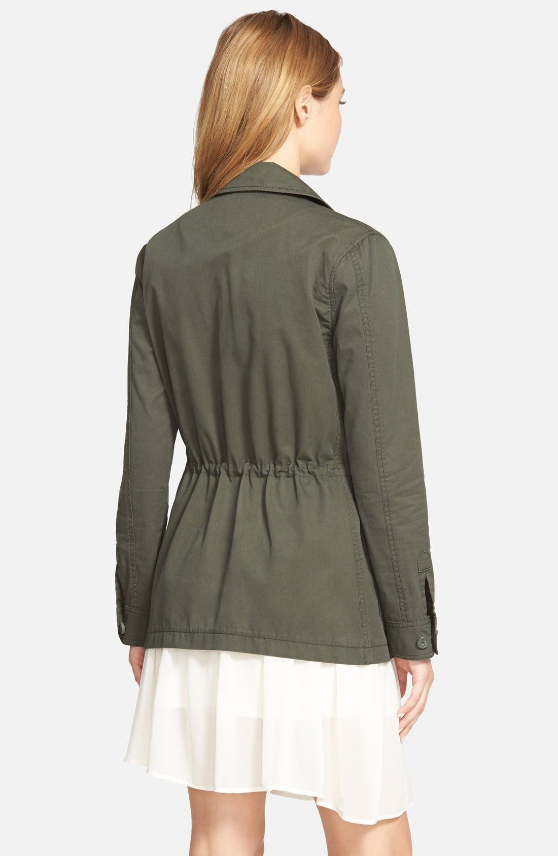 Alternate Image 2  - cupcakes and cashmere 'Presidio' Military Jacket (Nordstrom Exclusive)