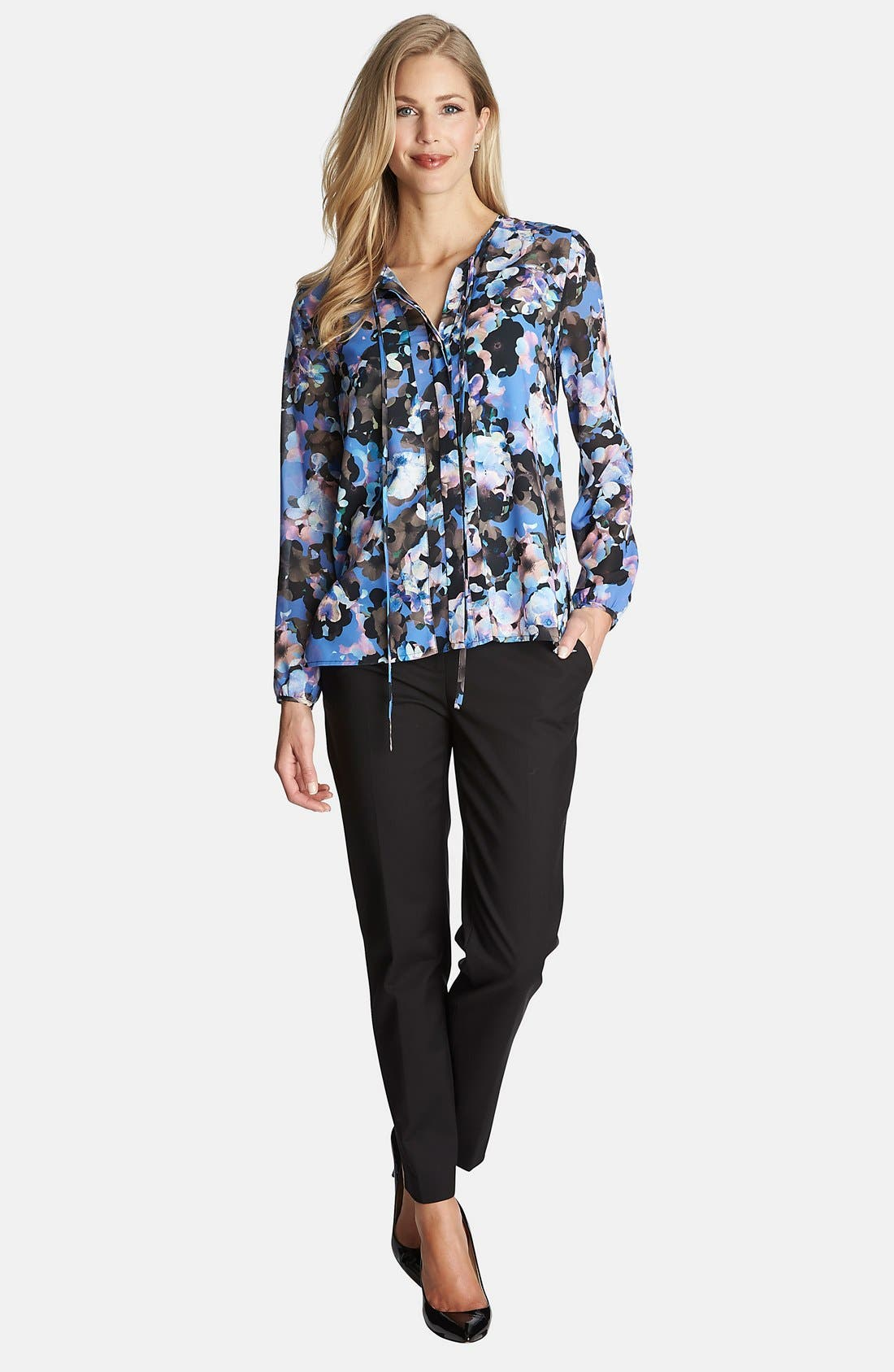 Alternate Image 3  - CeCe by Cynthia Steffe 'Floral Odyssey' Print Blouse