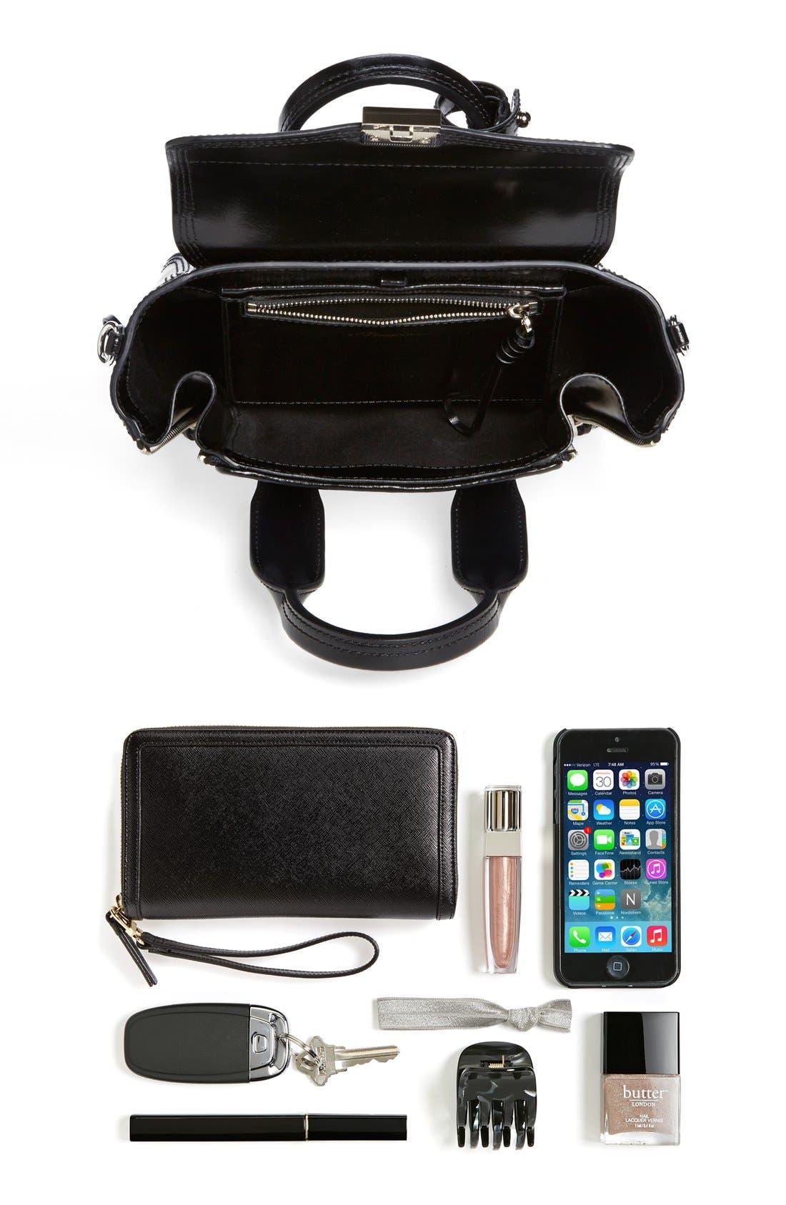 Alternate Image 4  - 3.1 Phillip Lim 'Pashli Mini' Leather & Stingray Satchel