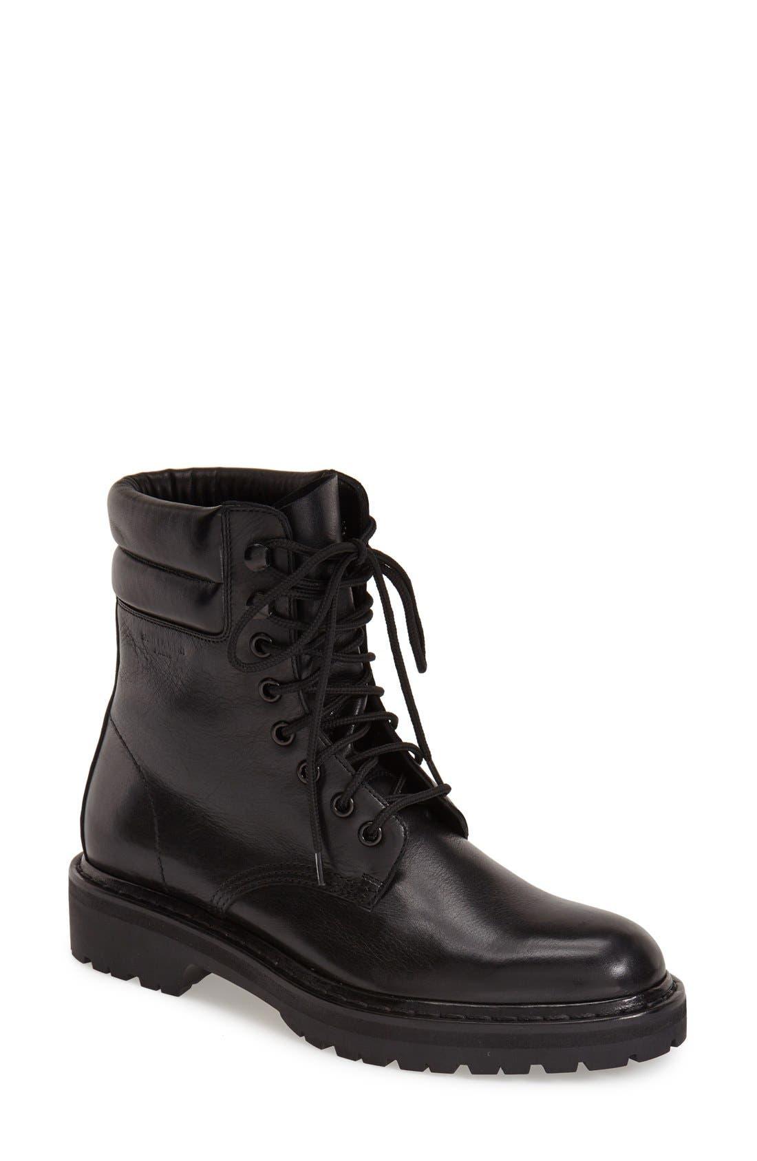 Main Image - Saint Laurent 'Army' Lace-Up Boot (Women)