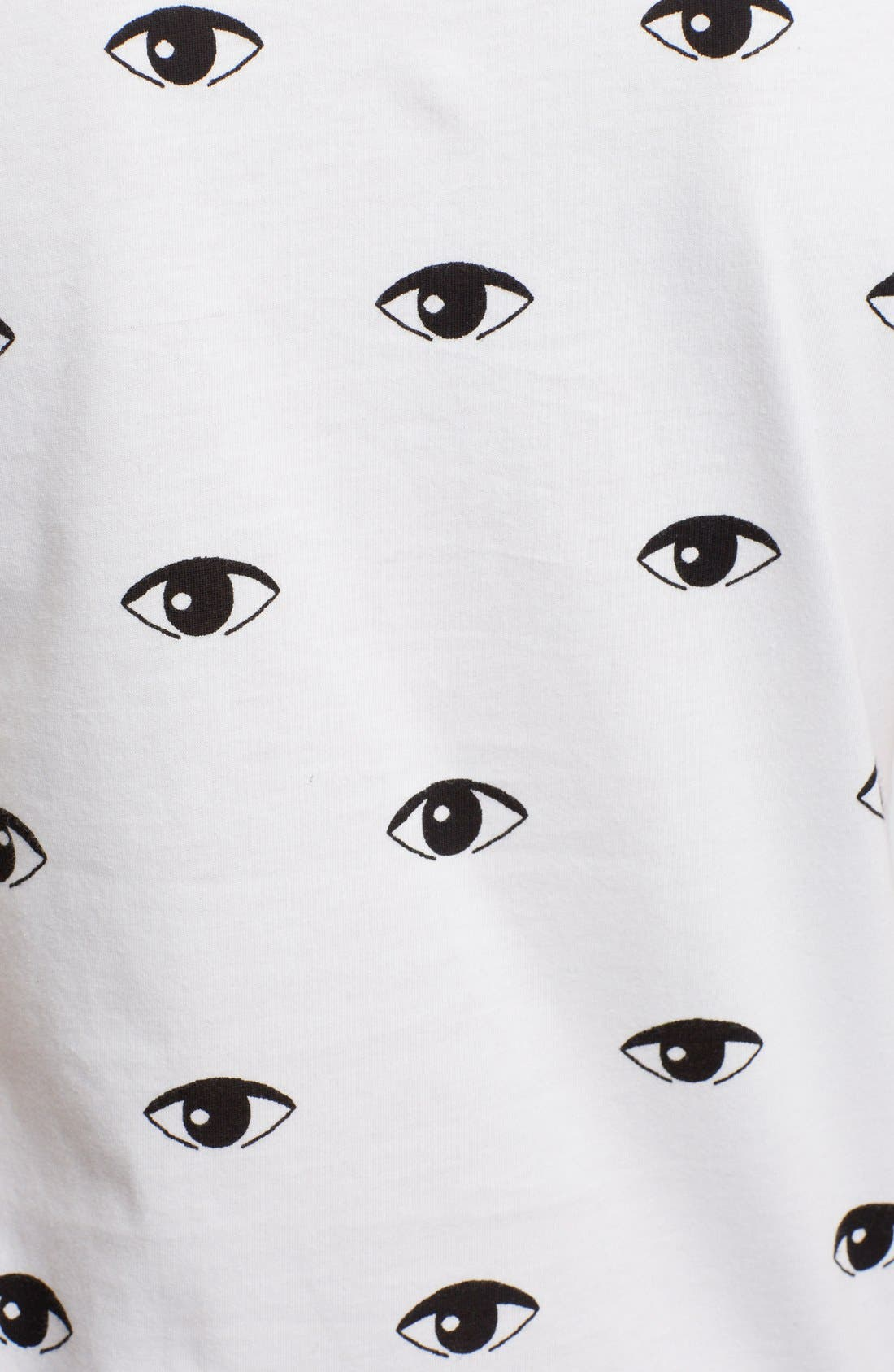 Alternate Image 3  - KENZO Eye Print Cotton T-Shirt