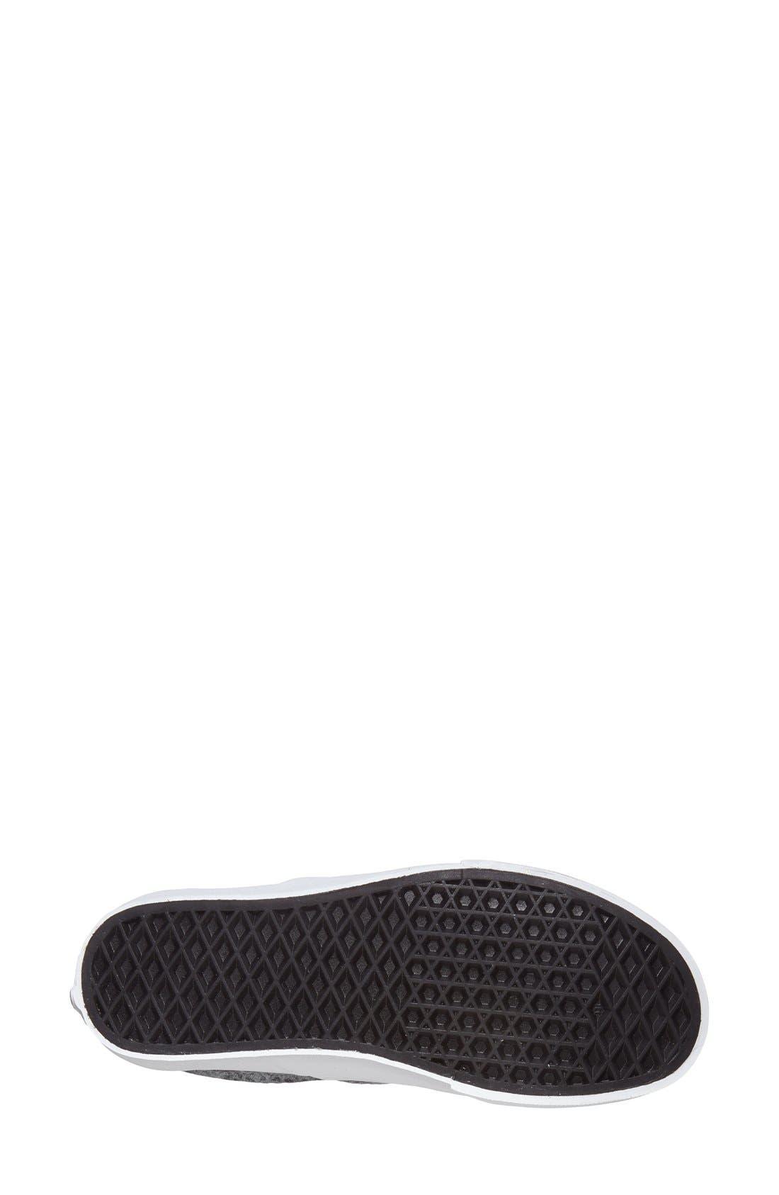 Alternate Image 4  - Vans 'Classic - Pebble Snake' Slip-On Sneaker (Women)