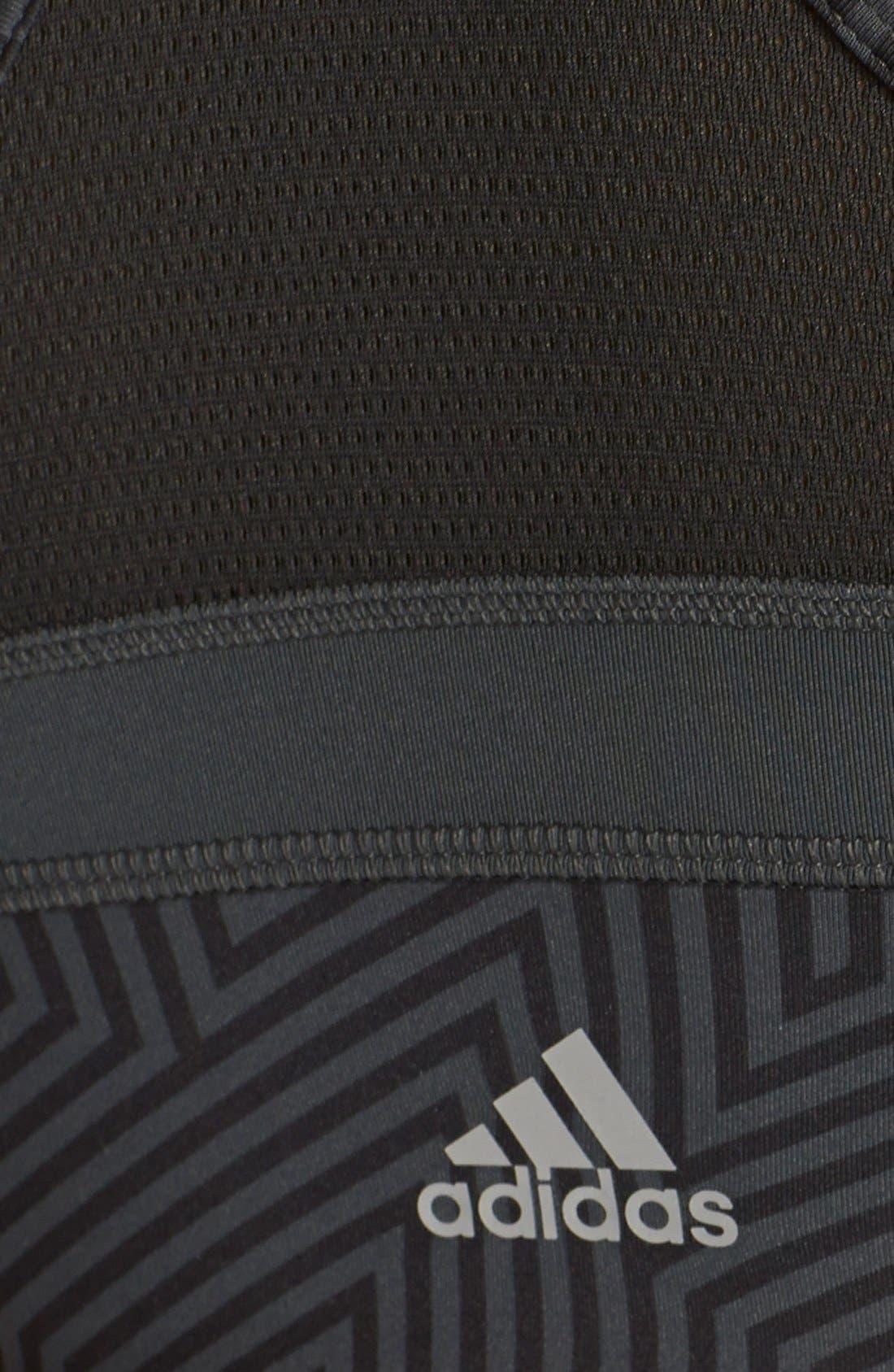 Alternate Image 4  - adidas'Techfit™ - Knockout' Sports Bra
