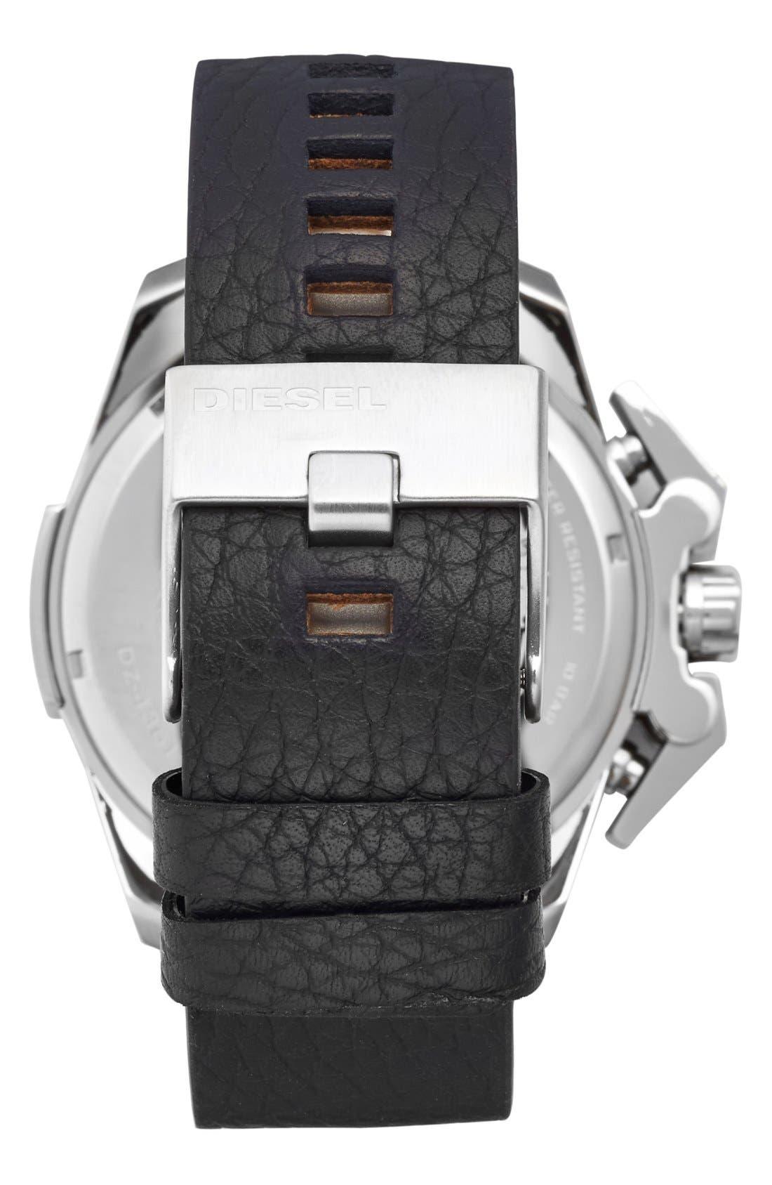 Alternate Image 2  - DIESEL® 'Ironside' Chronograph Watch, 48mm