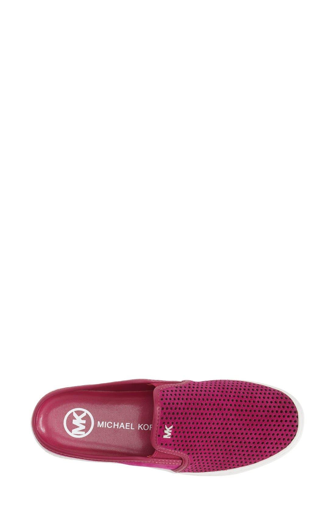 Alternate Image 3  - MICHAEL Michael Kors 'Brett' Perforated Slip-On Mule Sneaker (Women)