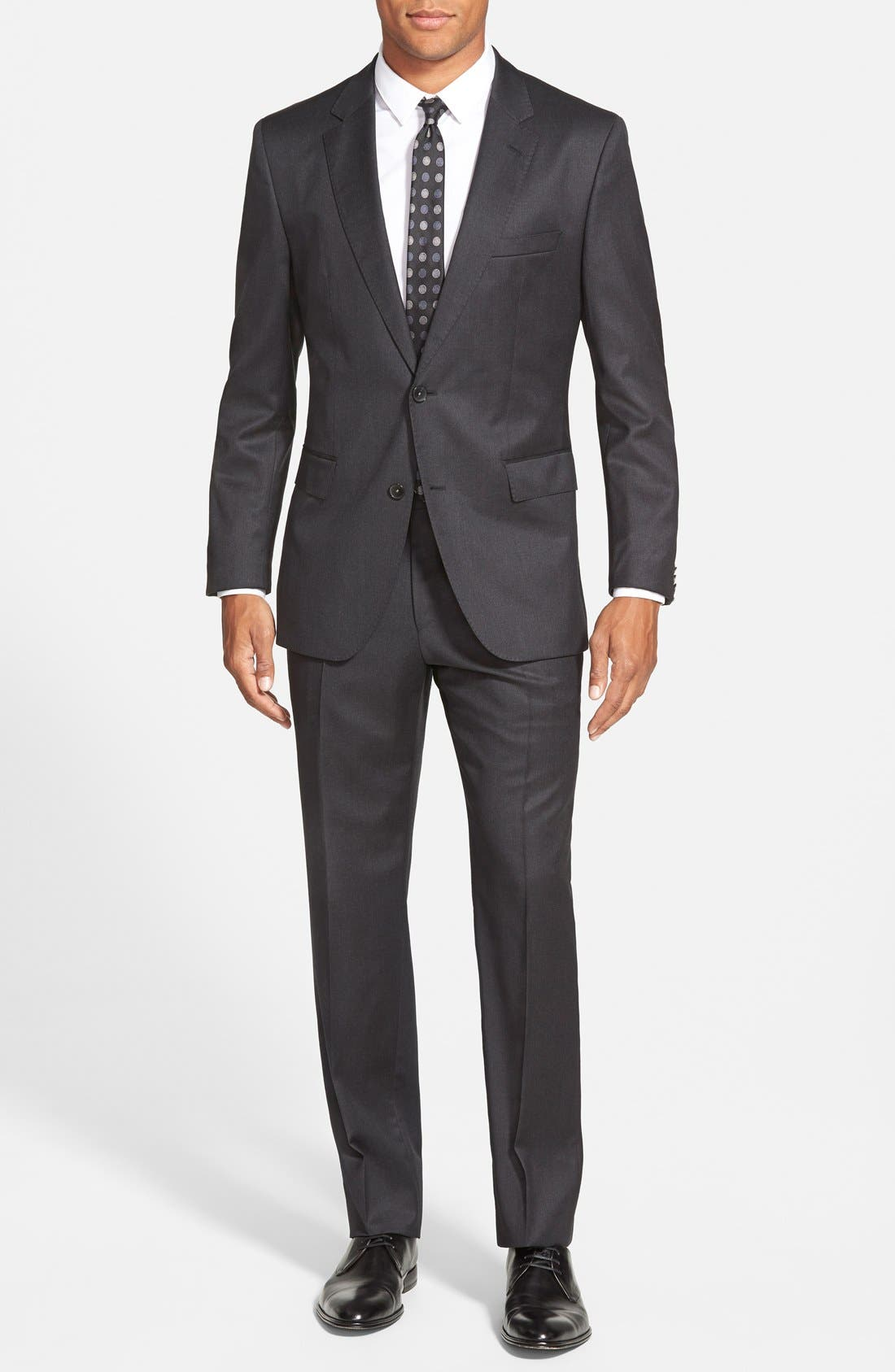 BOSS Johnstons/Lenon Classic Fit Wool Suit