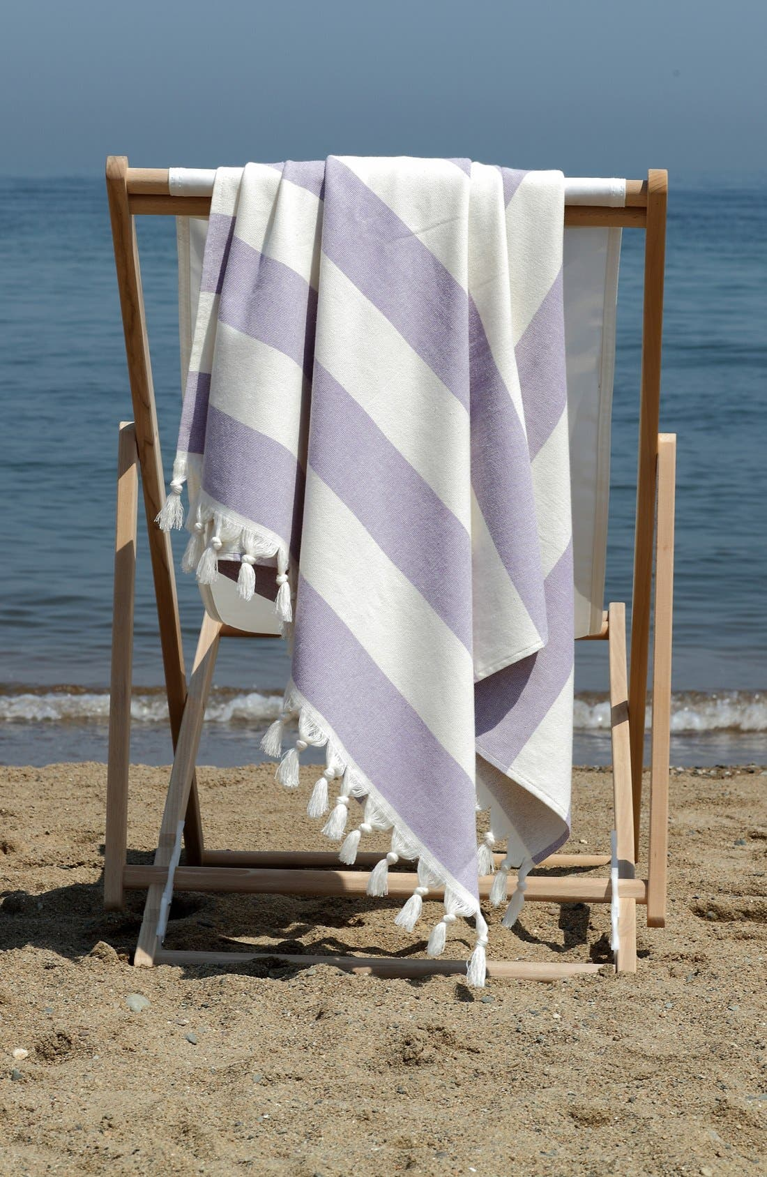 Alternate Image 4  - Linum Home Textiles 'Patara' Turkish Pestemal Towel