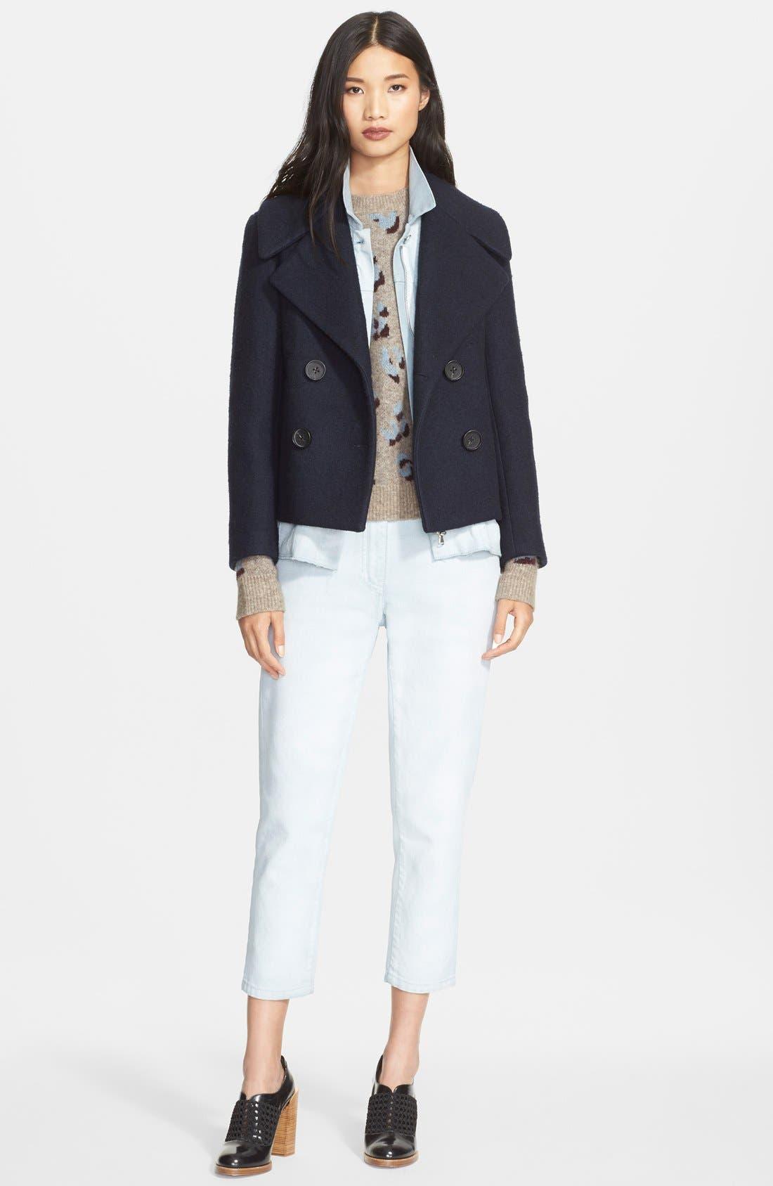 Alternate Image 4  - 3.1 Phillip Lim Leopard Jacquard Sweater