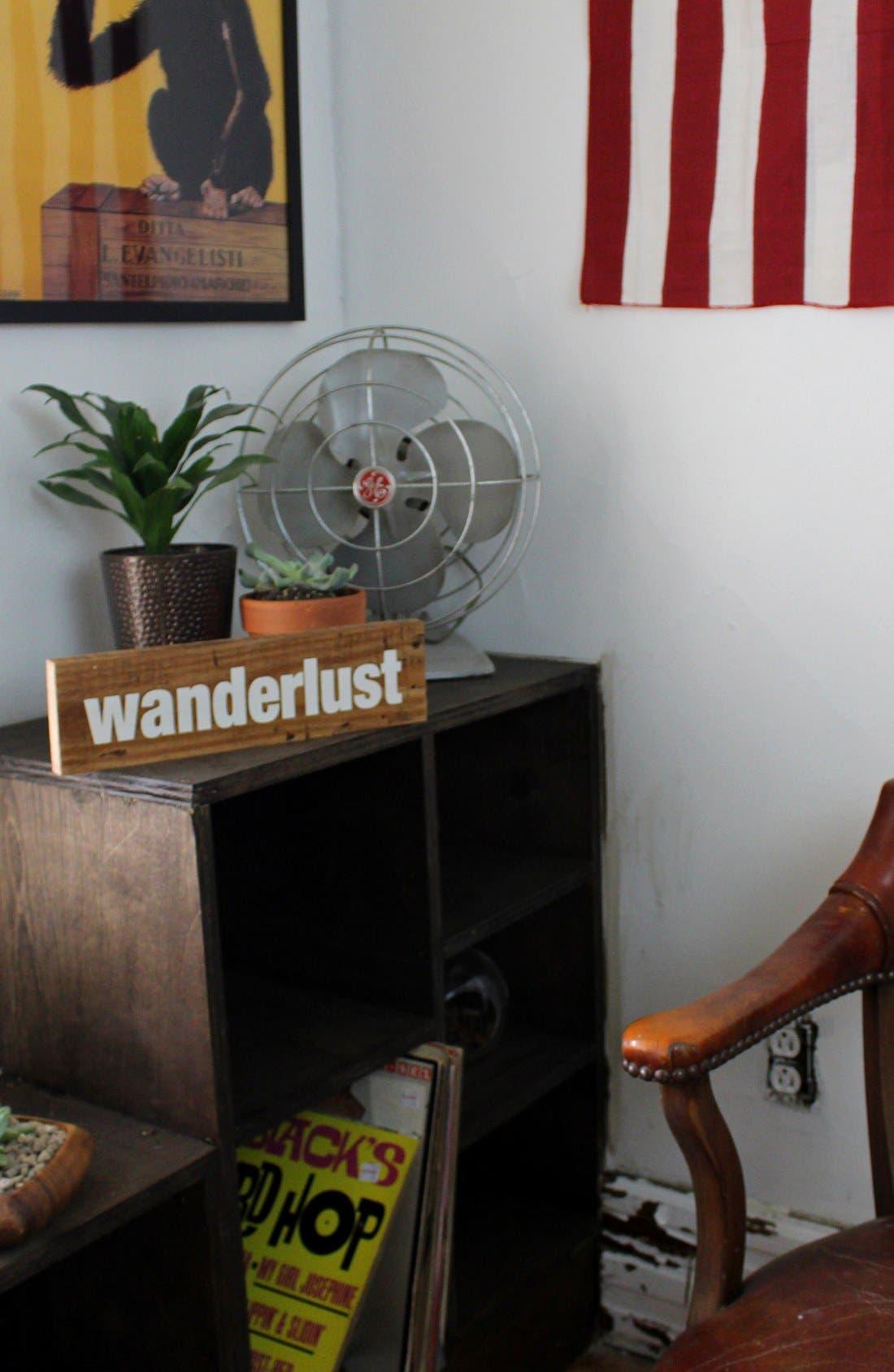 Alternate Image 2  - Woodward Throwbacks 'Wanderlust' Sign