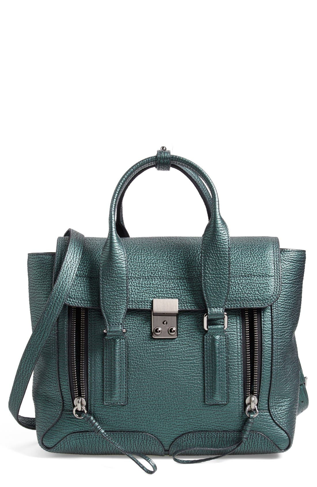 Alternate Image 1 Selected - 3.1 Phillip Lim 'Pashli Medium' Leather Satchel