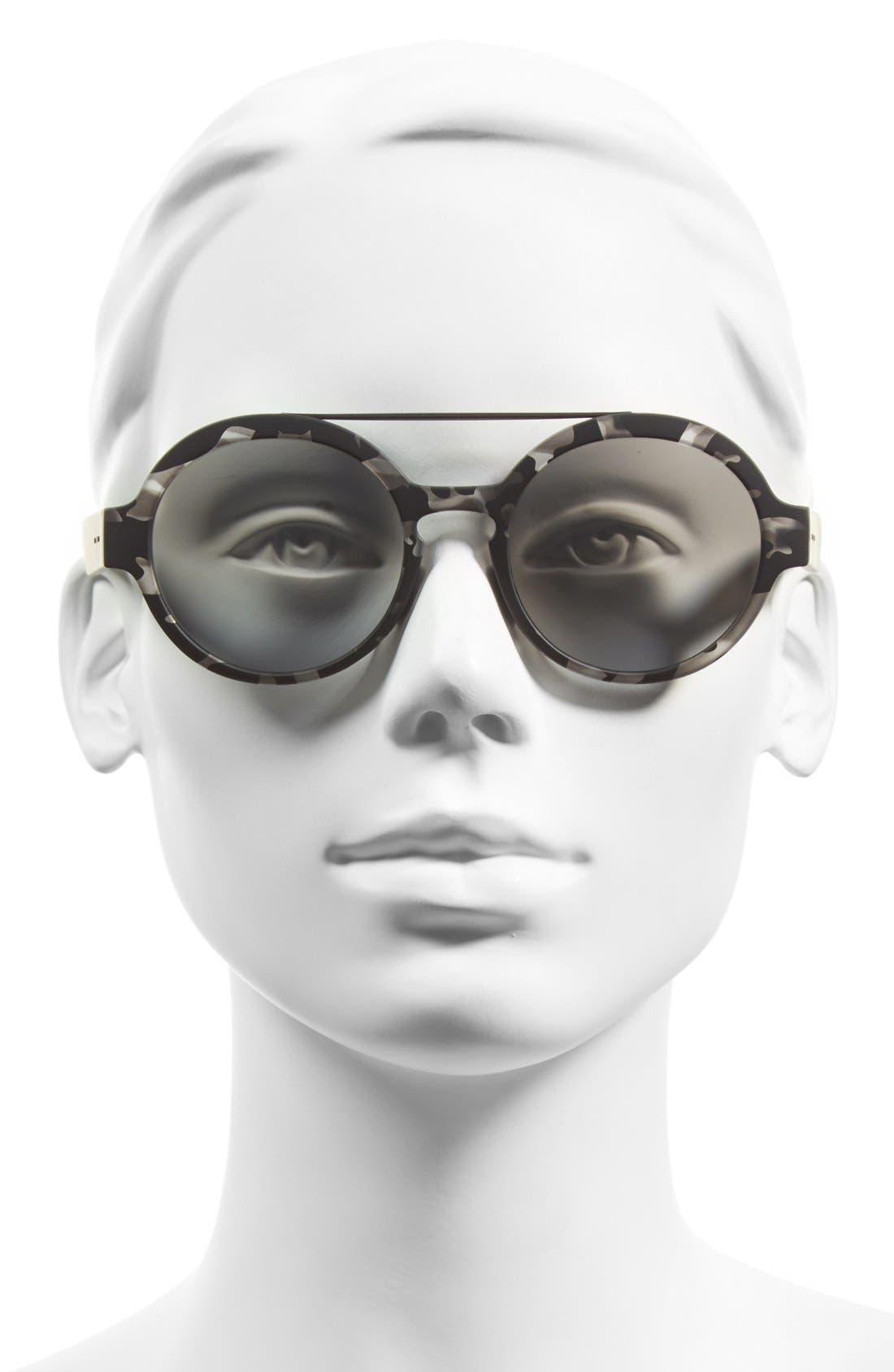 Alternate Image 2  - Italia Independent 51mm Round Sunglasses