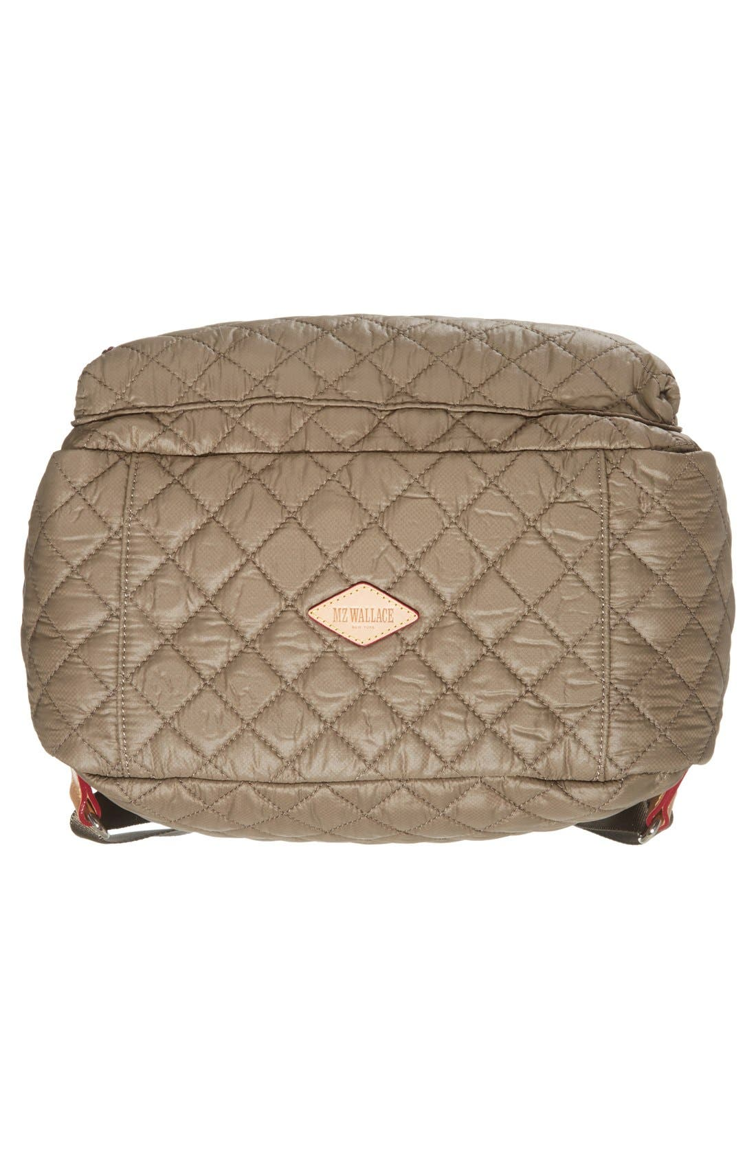 Alternate Image 6  - MZ Wallace 'Metro' Quilted Oxford Nylon Backpack