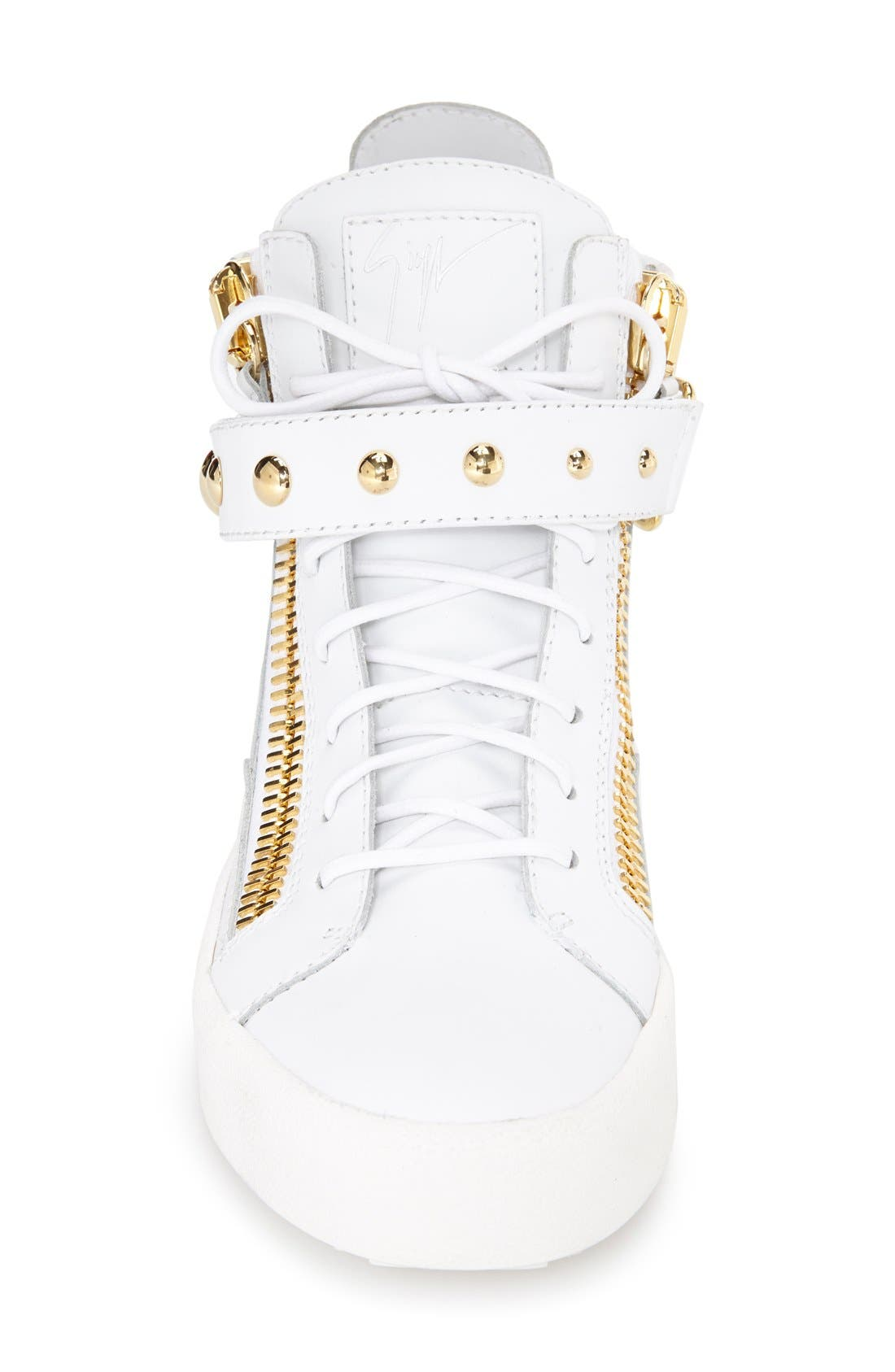 Alternate Image 3  - Giuseppe Zanotti 'May London' High Top Sneaker (Women)
