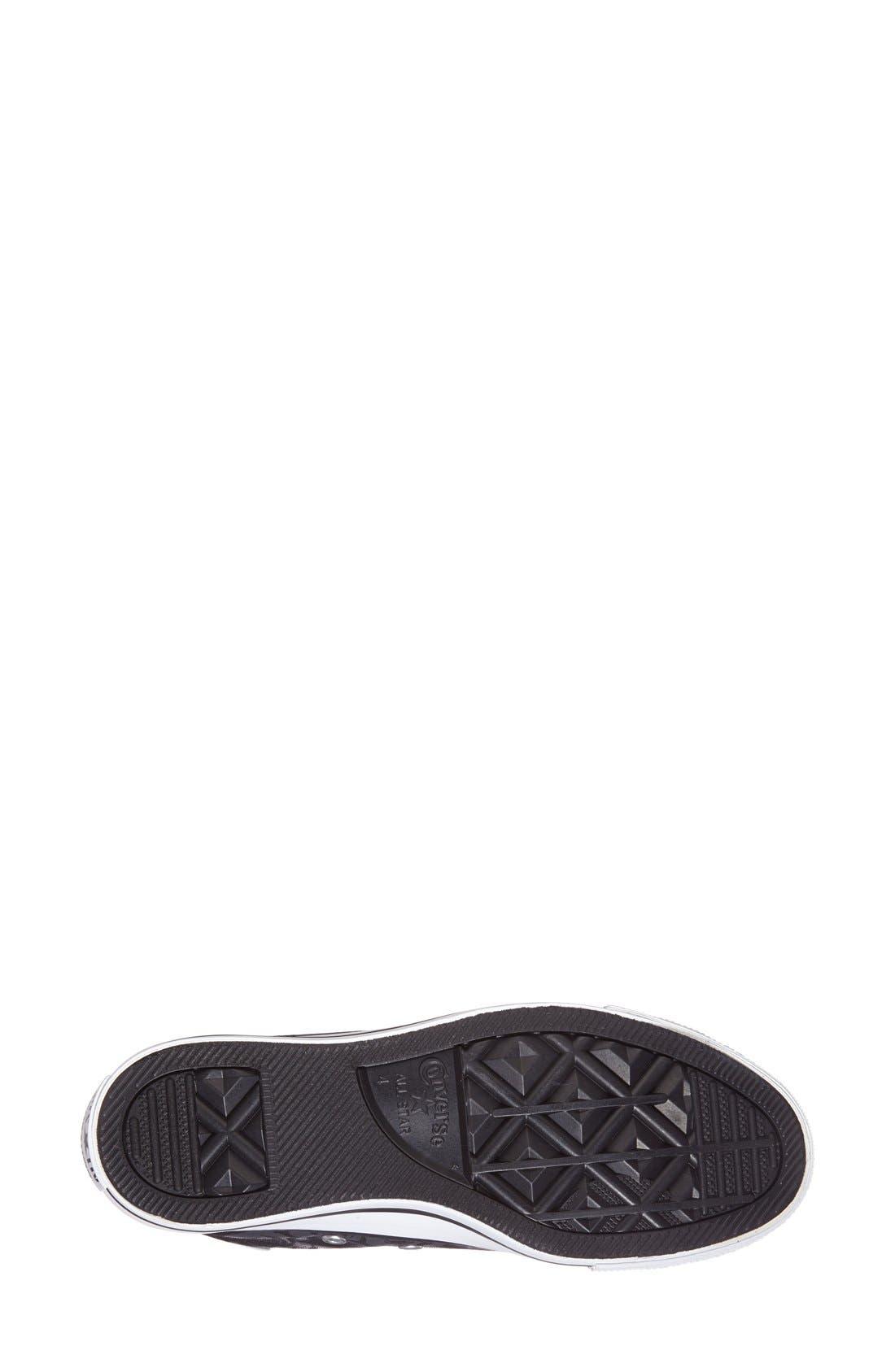 Alternate Image 4  - Converse Chuck Taylor® All Star® Rose Print High Top Sneaker (Women)