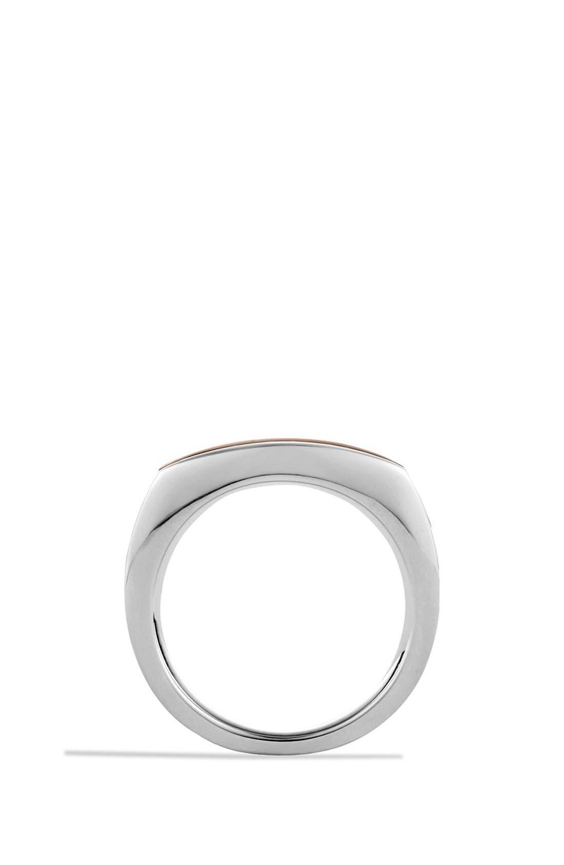 Alternate Image 4  - David Yurman 'Frontier' Ring with Tiger's Eye