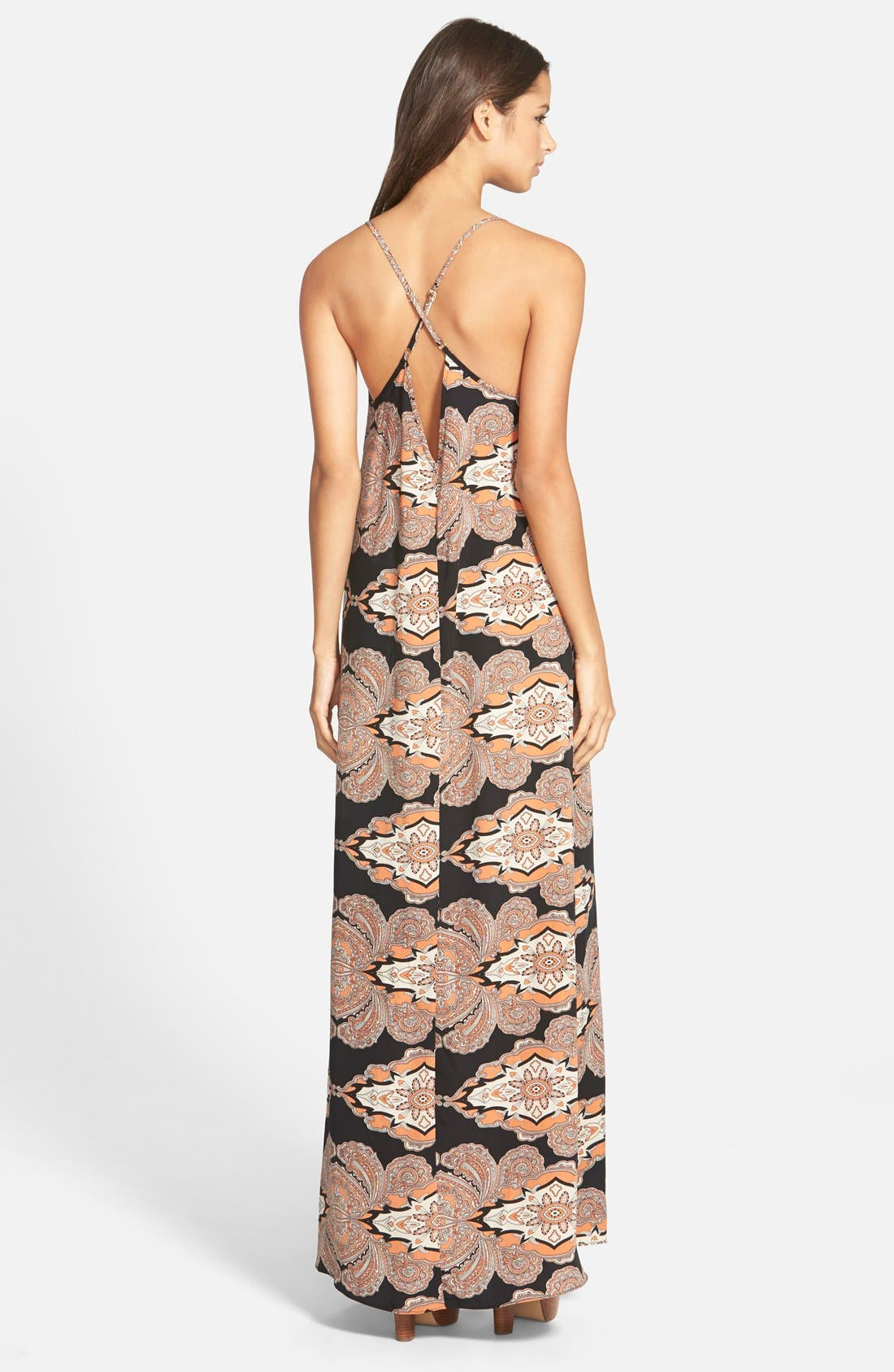 Alternate Image 2  - Leith Lace Up Maxi Dress