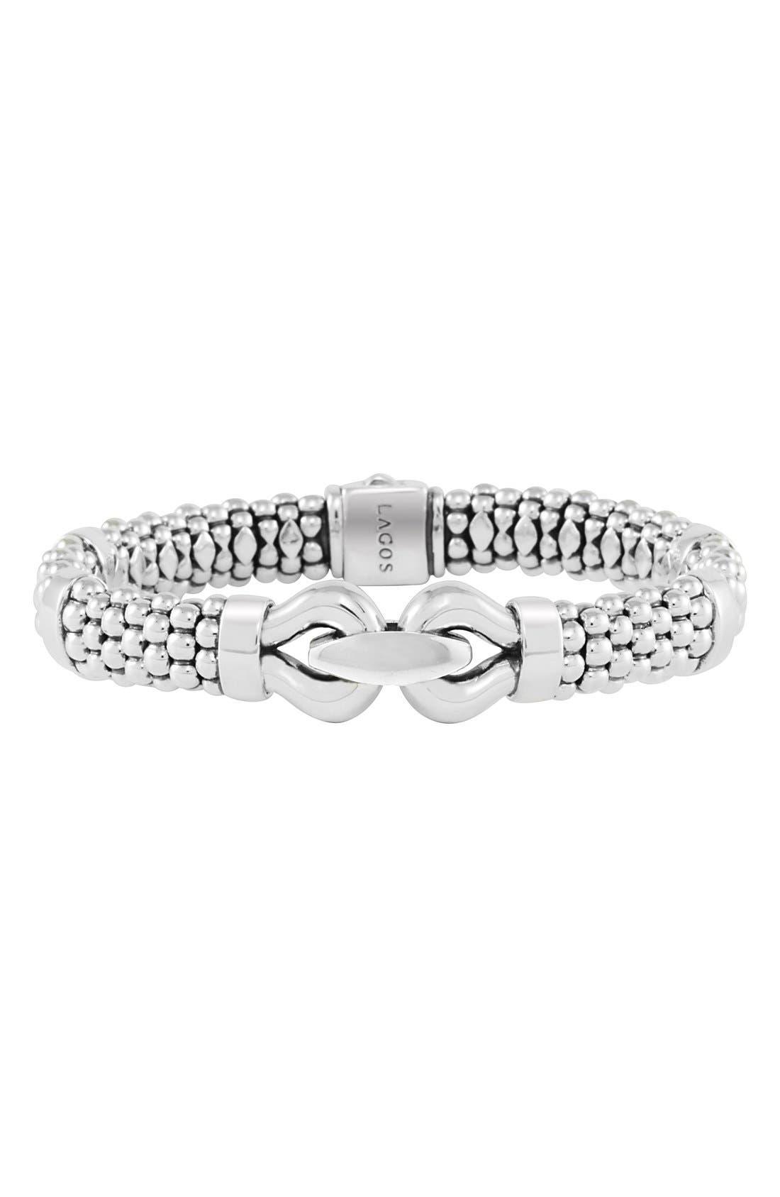 Alternate Image 1 Selected - LAGOS 'Derby' Caviar Rope Bracelet