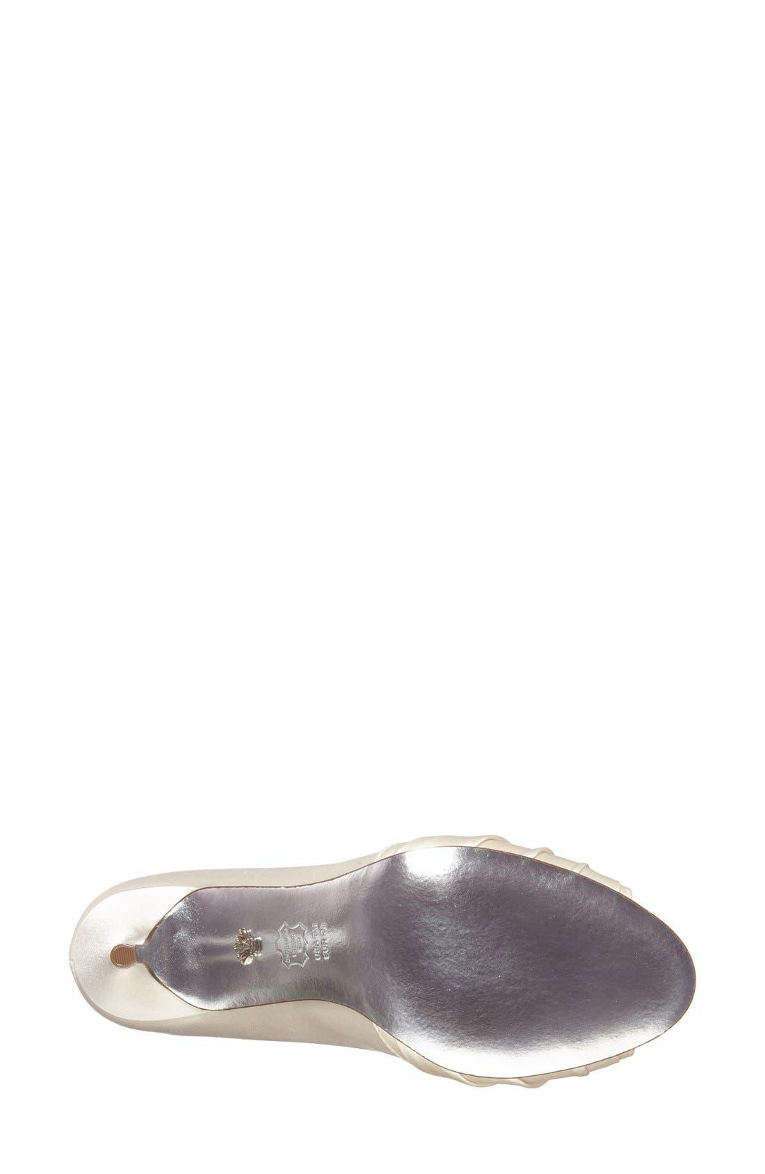 Alternate Image 2  - Nina 'Vesta' Peep Toe Pump (Women)